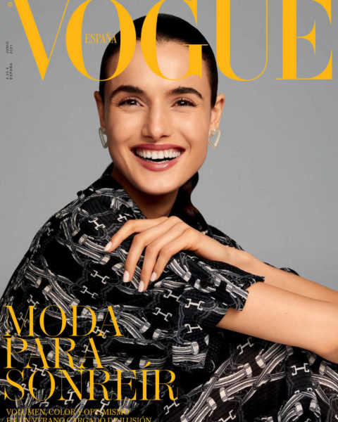 Blanca Padilla covers Vogue Spain June 2021 by Miguel Reveriego