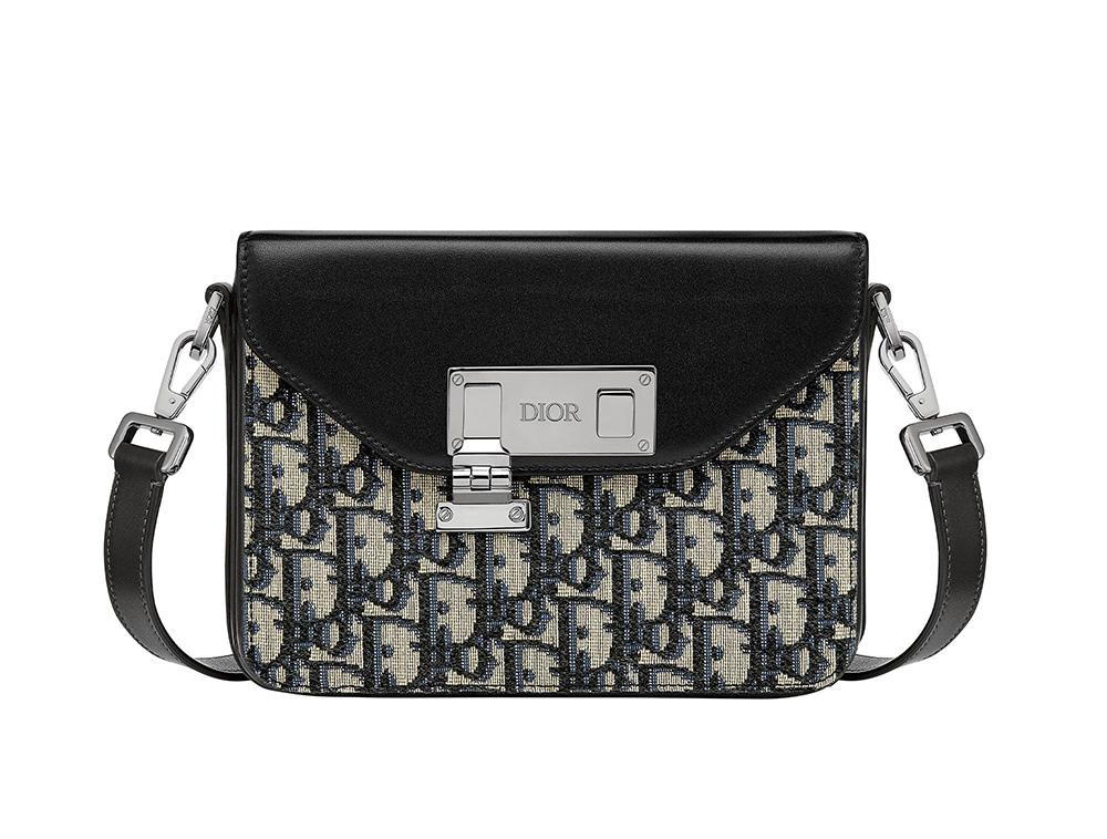 Dior Men presents the Dior Lock bag
