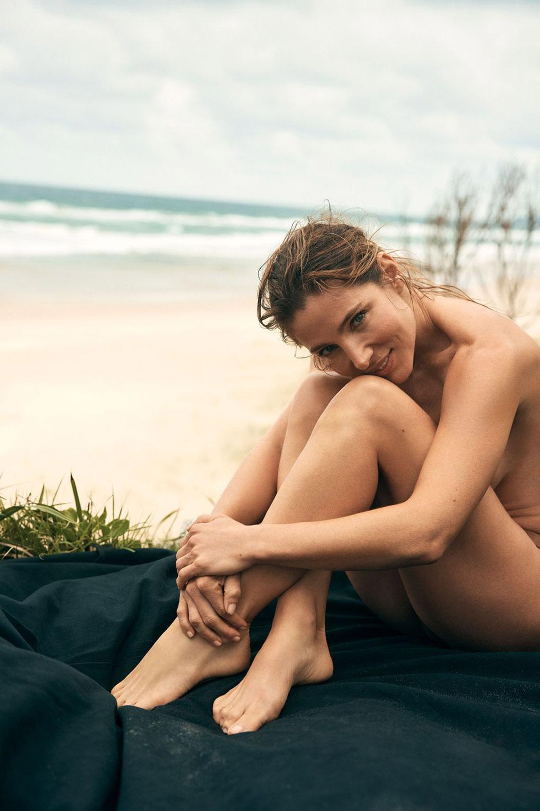 Elsa Pataky covers Elle Spain June 2021 by Darren McDonald