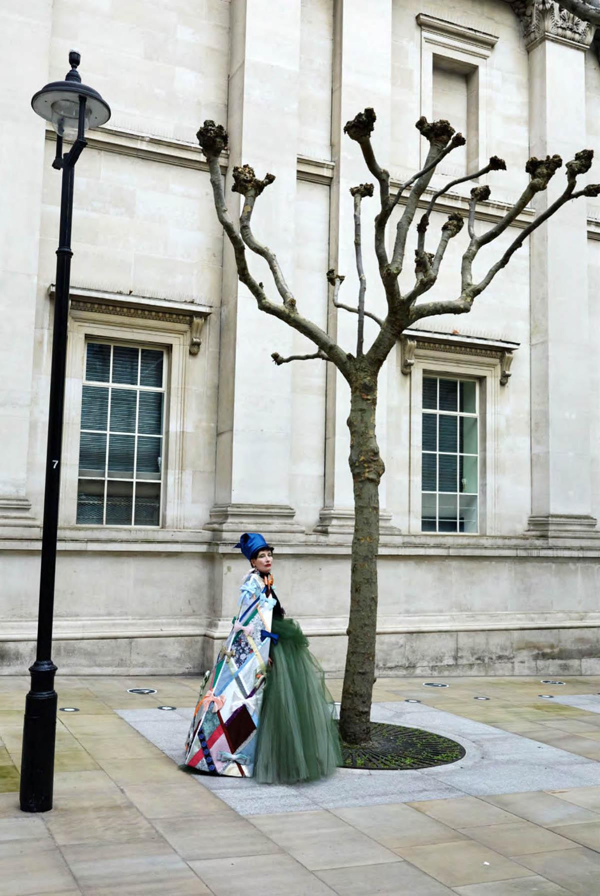 Emma Thompson by Juergen Teller for British Vogue June 2021