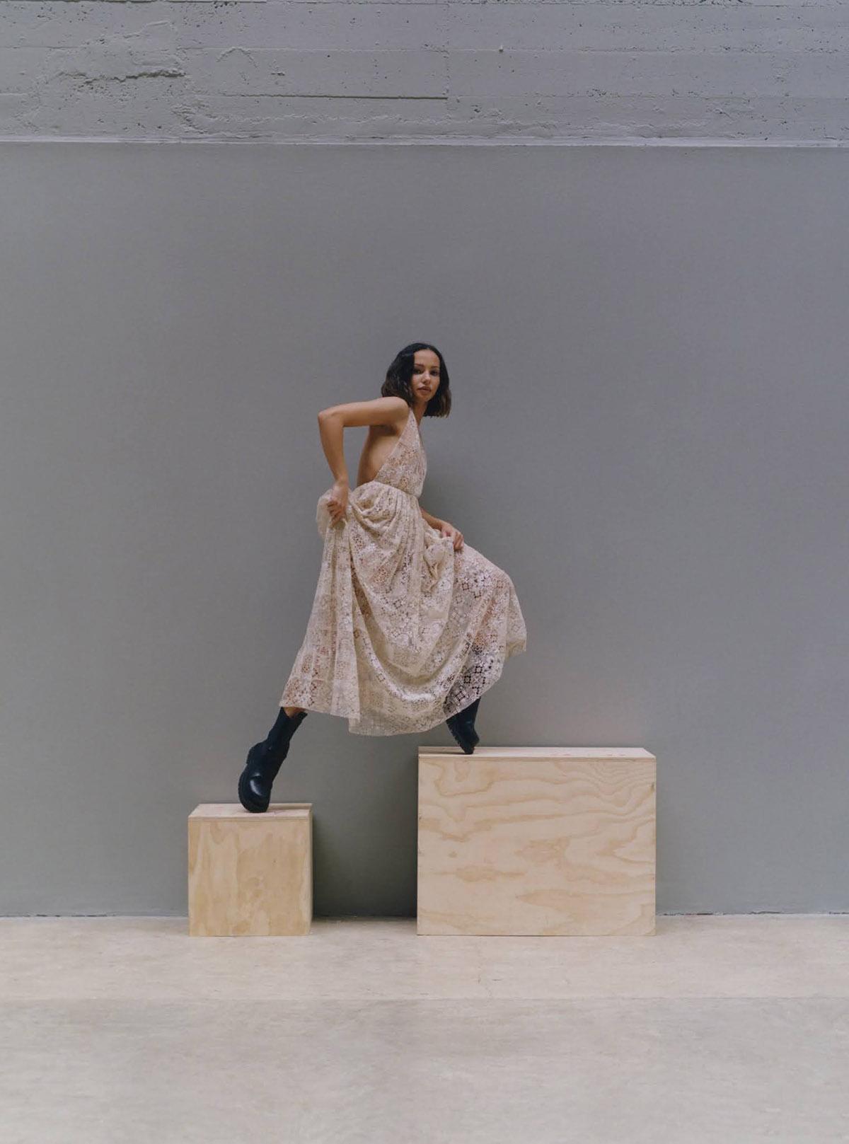 Francesca Hayward covers Harper's Bazaar UK June 2021 by Jesse Jenkins