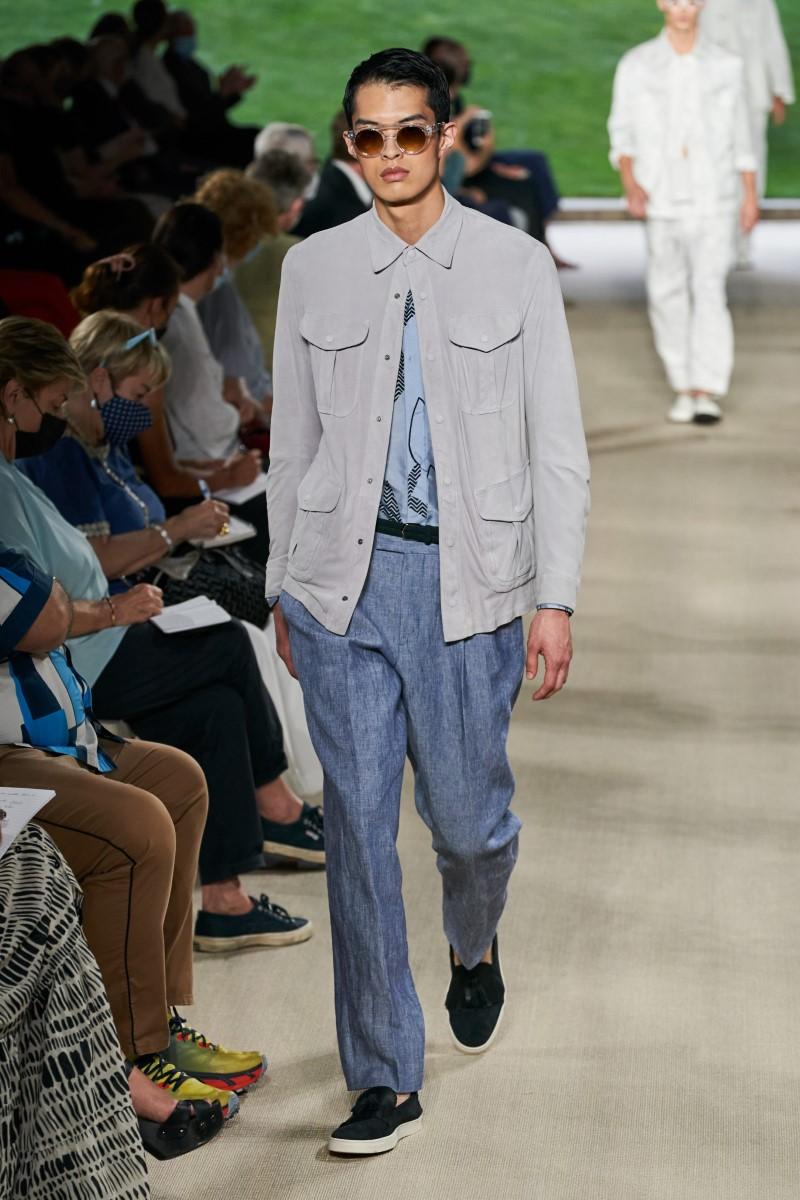 Giorgio Armani Spring Summer 2022 - Milan Fashion Week Men's