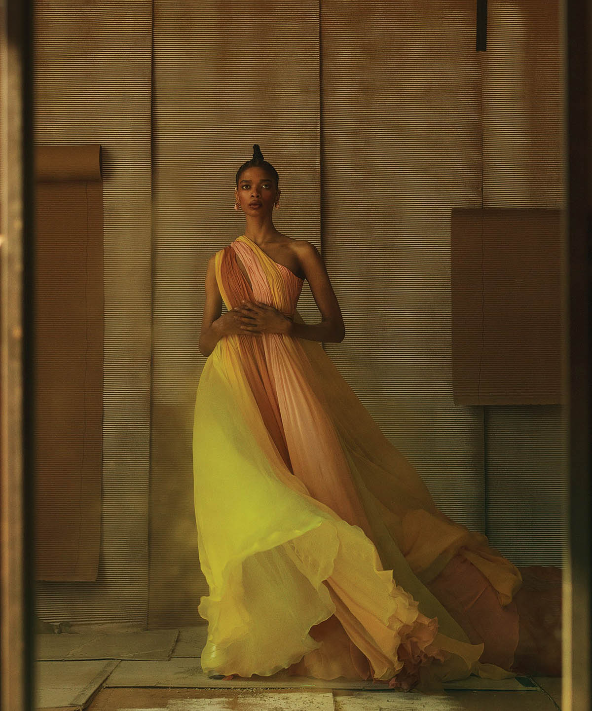 ''Grand Entrance'' by Christian Macdonald for WSJ. Magazine June July 2021