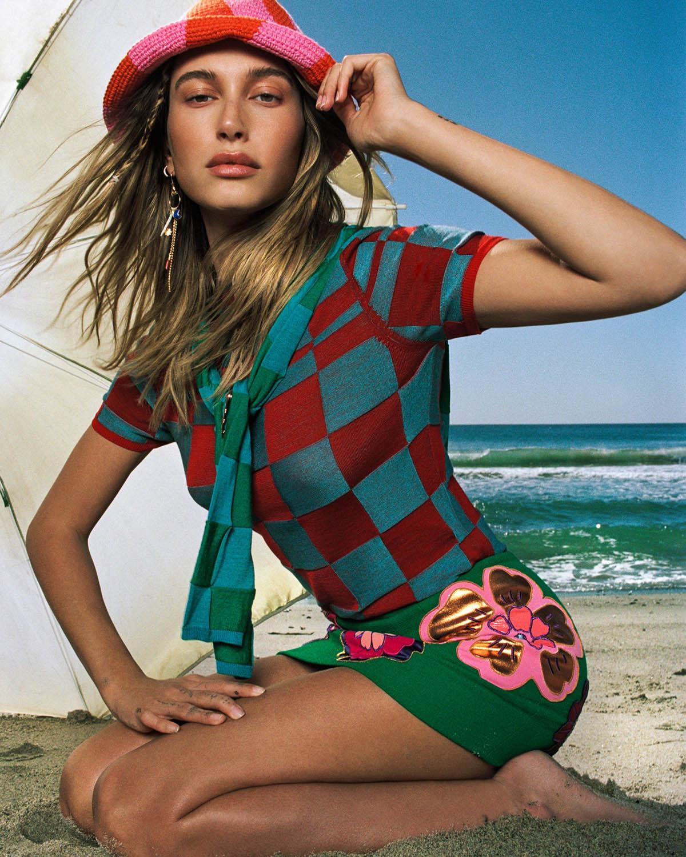 Hailey Bieber by Hugo Comte for Vogue US June July 2021