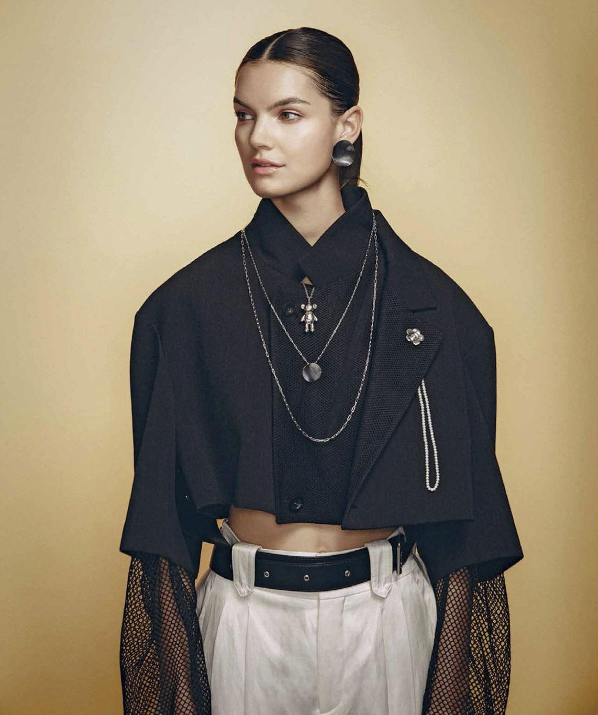 Irene Lorenzon and Clark Coombs by Miguel Garcia for Harper's Bazaar Mexico & Latin America June 2021