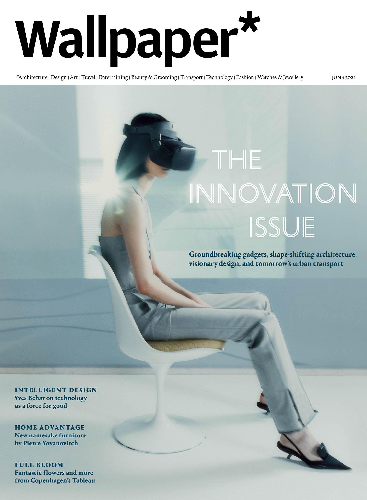 J Moon covers Wallpaper* Magazine June 2021 by Umit Savaci