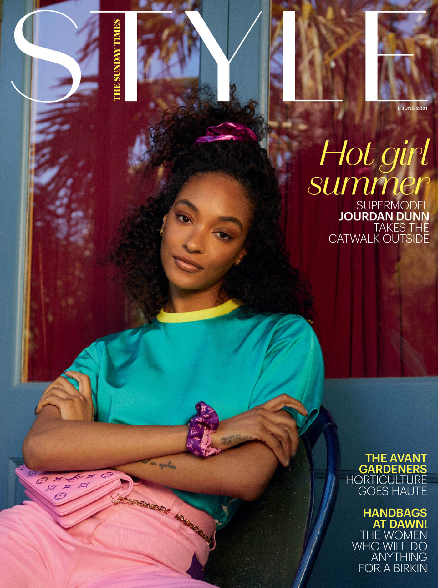 Jourdan Dunn covers The Sunday Times Style June 6th, 2021 by Olivia Lifungula