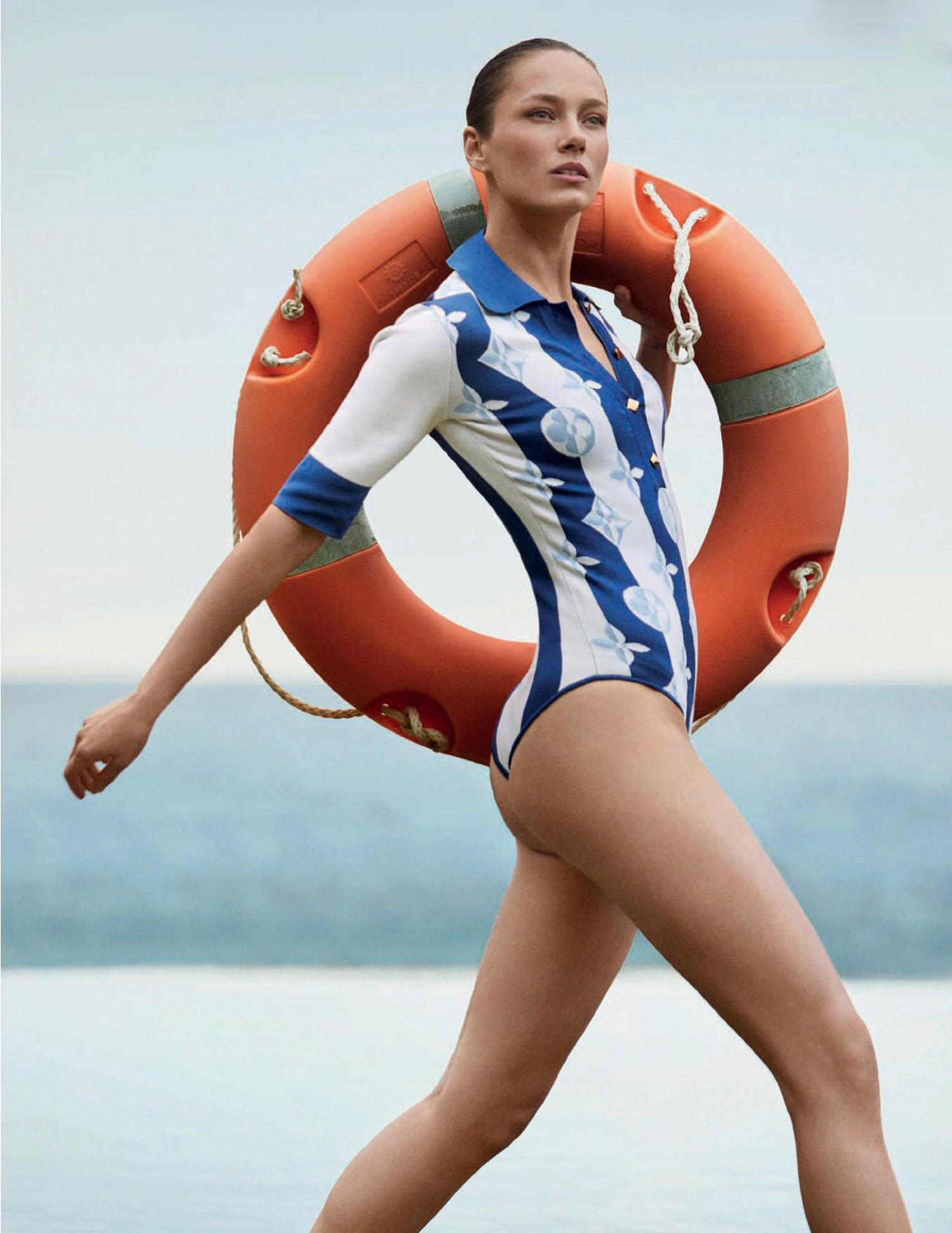 Karmen Pedaru by Xavi Gordo for Harper's Bazaar Spain June 2021