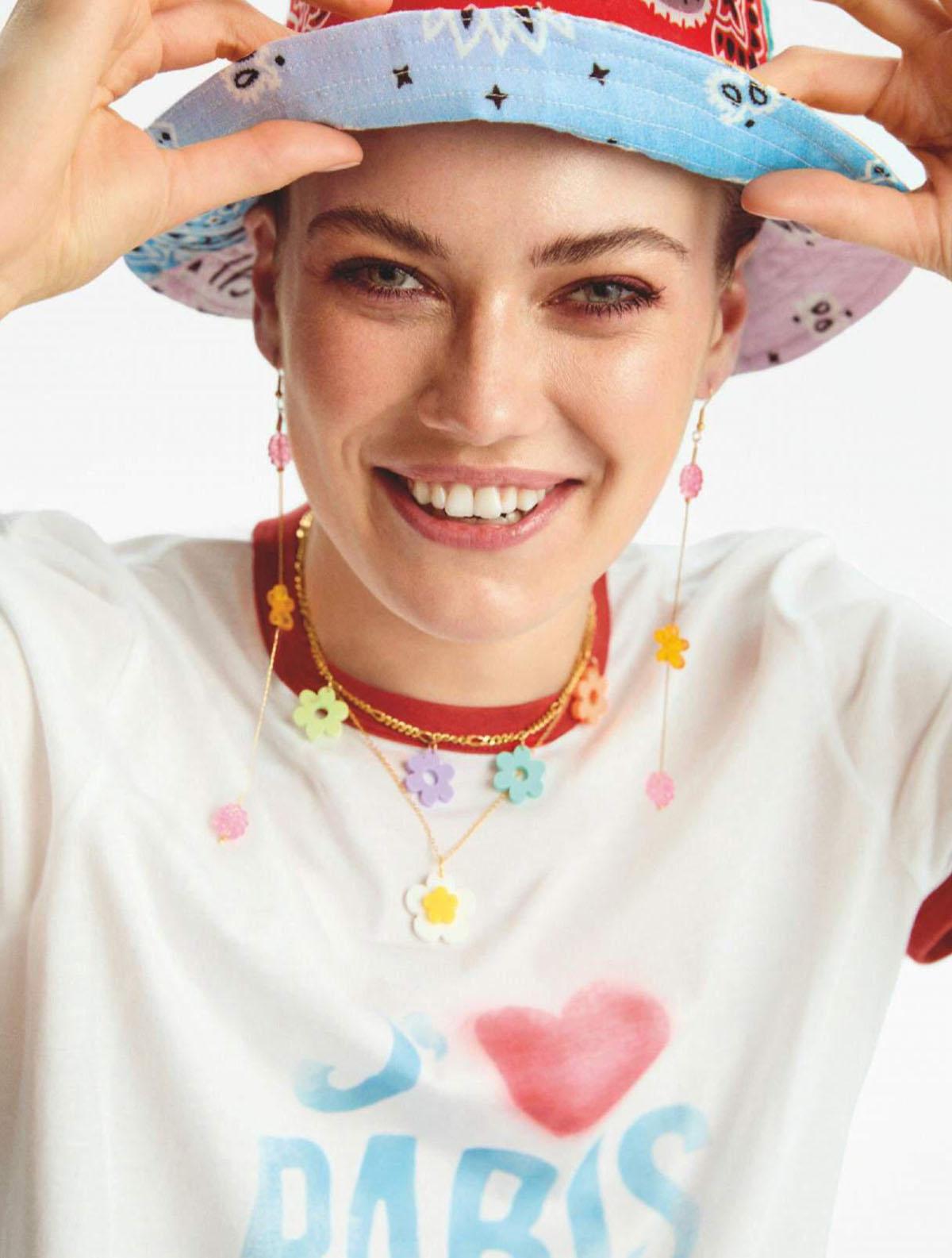Kinga Rajman by Paula Méndez for InStyle Spain June 2021