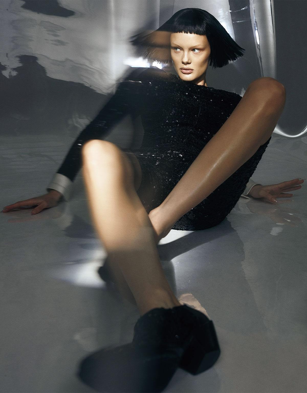 Kris Grikaite by Zoey Grossman for Vogue Japan June 2021