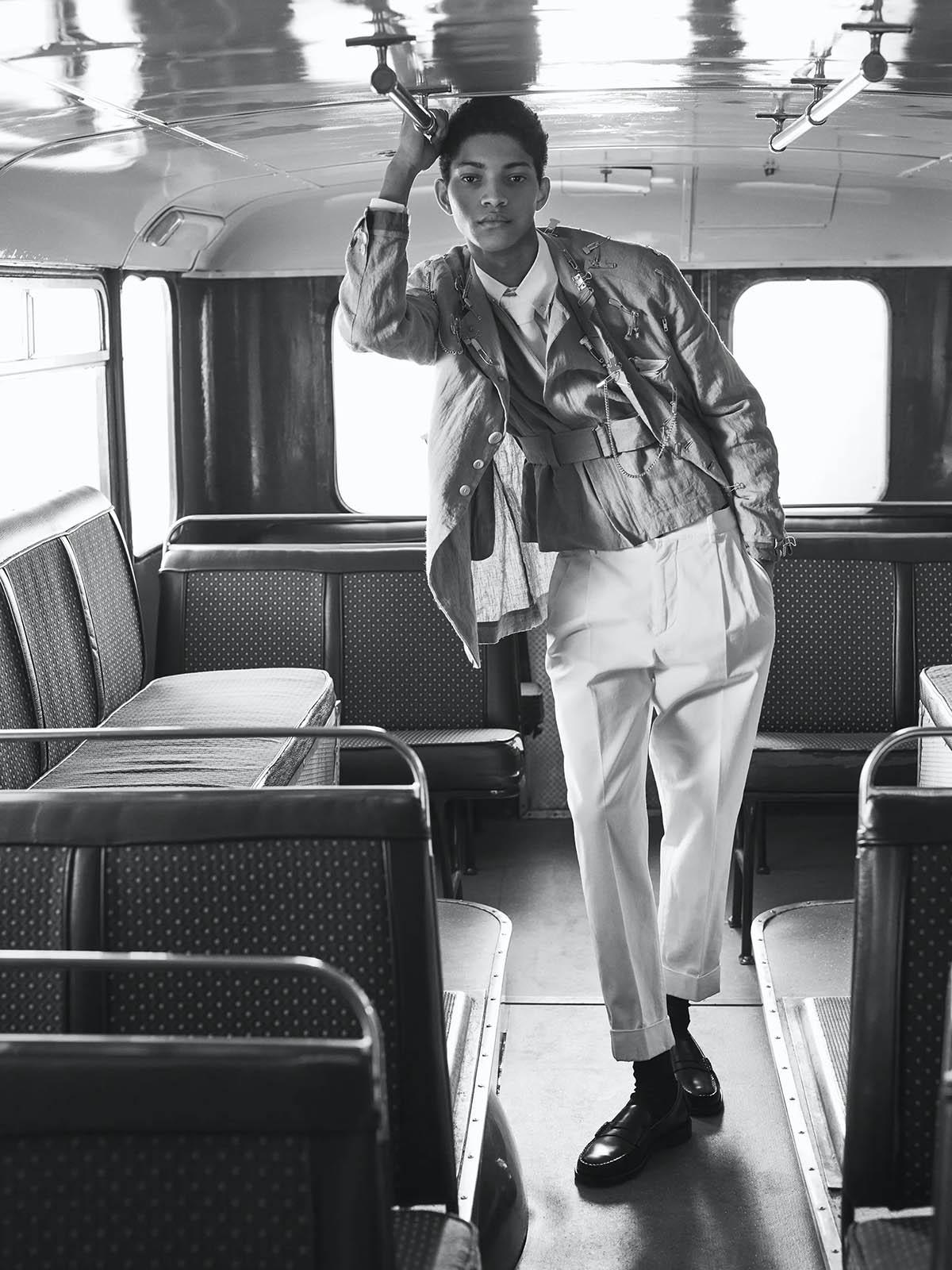 ''Last Stop'' by Zeb Daemen for L'Officiel Hommes Italia Issue 26