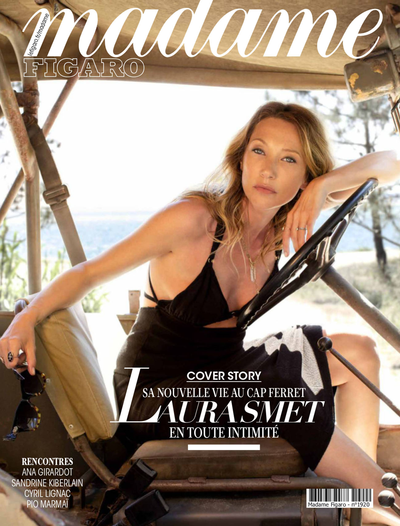 Laura Smet covers Madame Figaro June 11th, 2021 by Luc Braquet