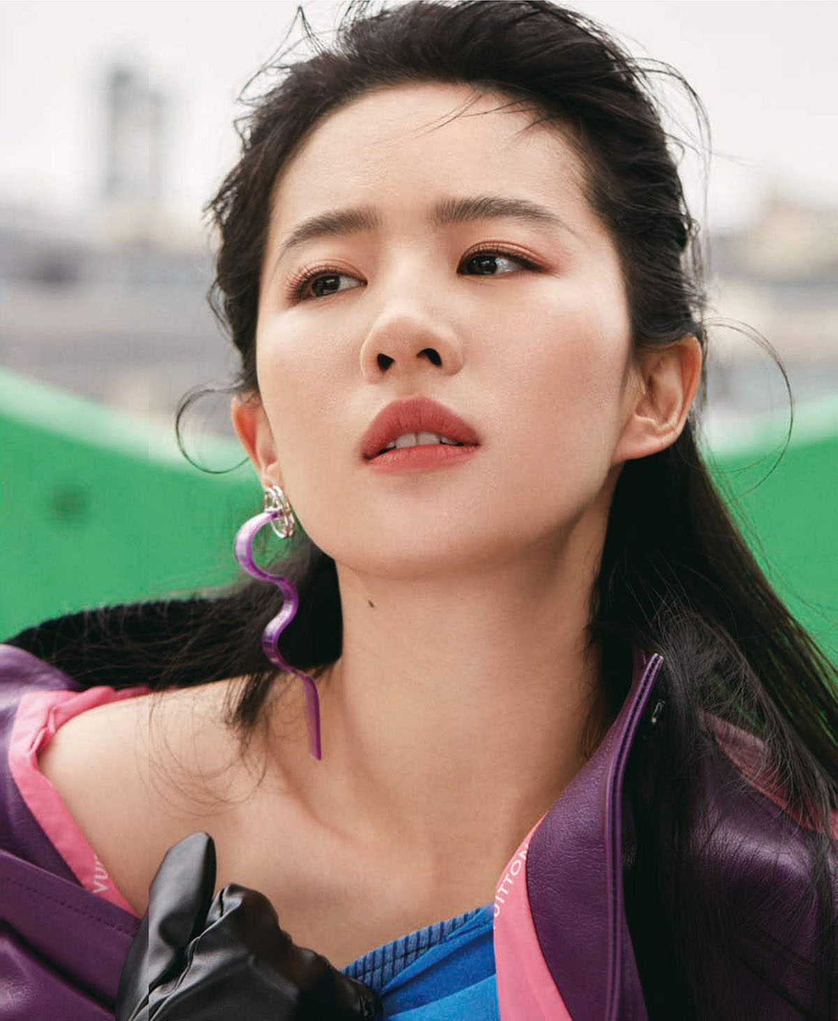Liu Yifei covers Vogue China June 2021 by Jumbo Tsui