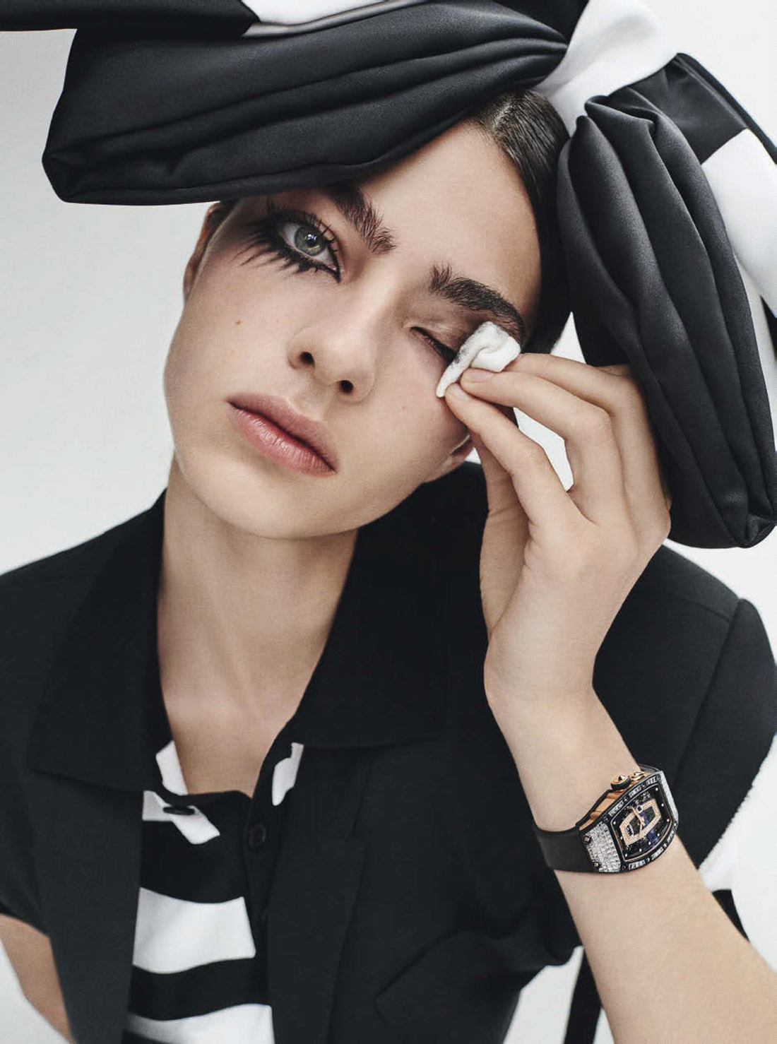 Loli Bahia by Giampaolo Sgura for Vogue Italia June 2021