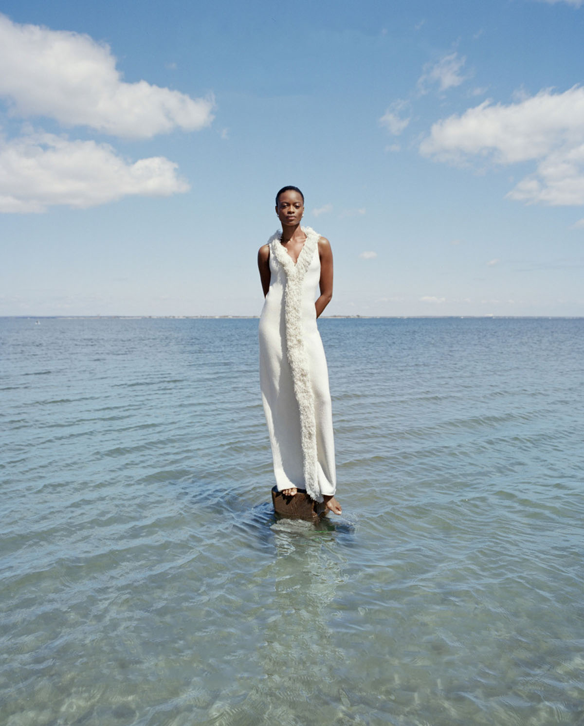 Mayowa Nicholas by Deirdre Lewis for Harper's Bazaar US June July 2021