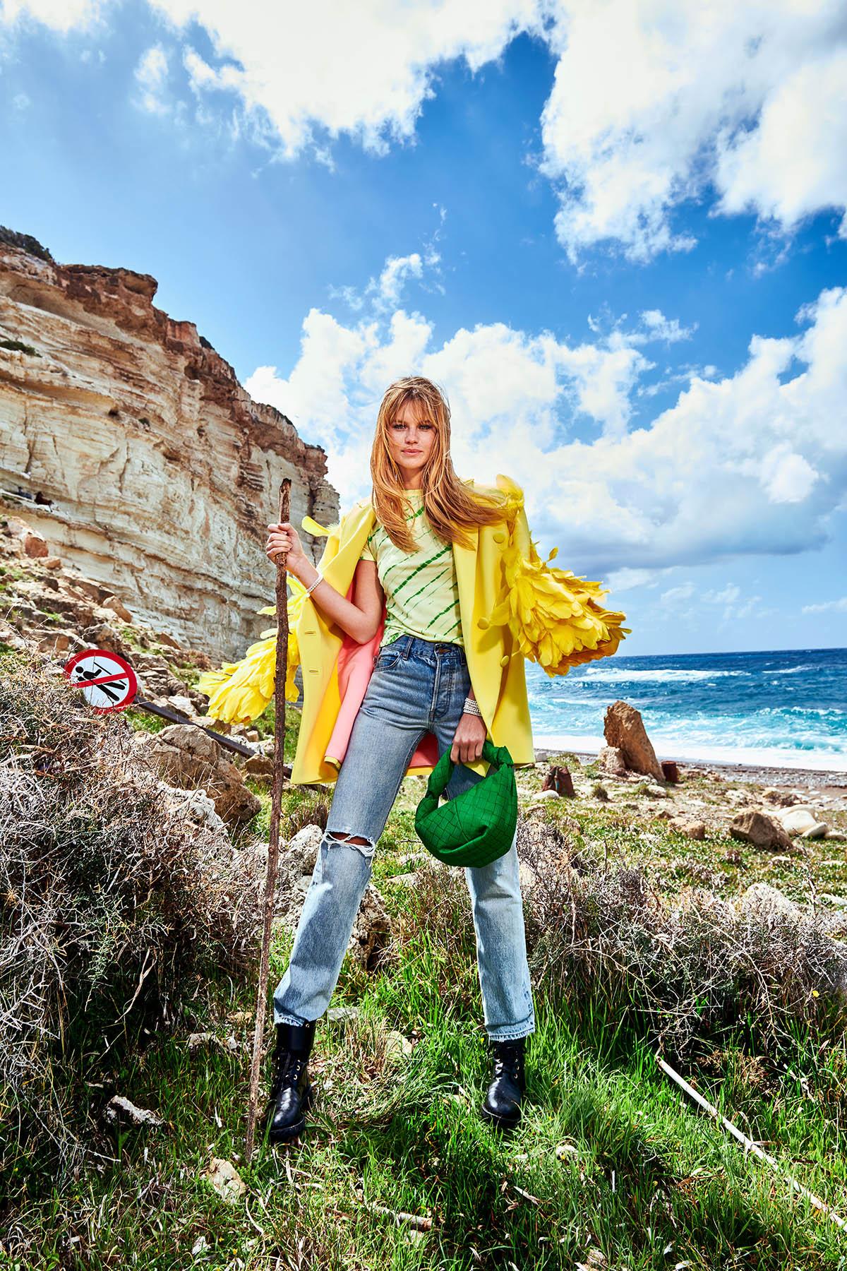 Nadine Leopold by Stefan Imielski for Vogue Portugal April 2021