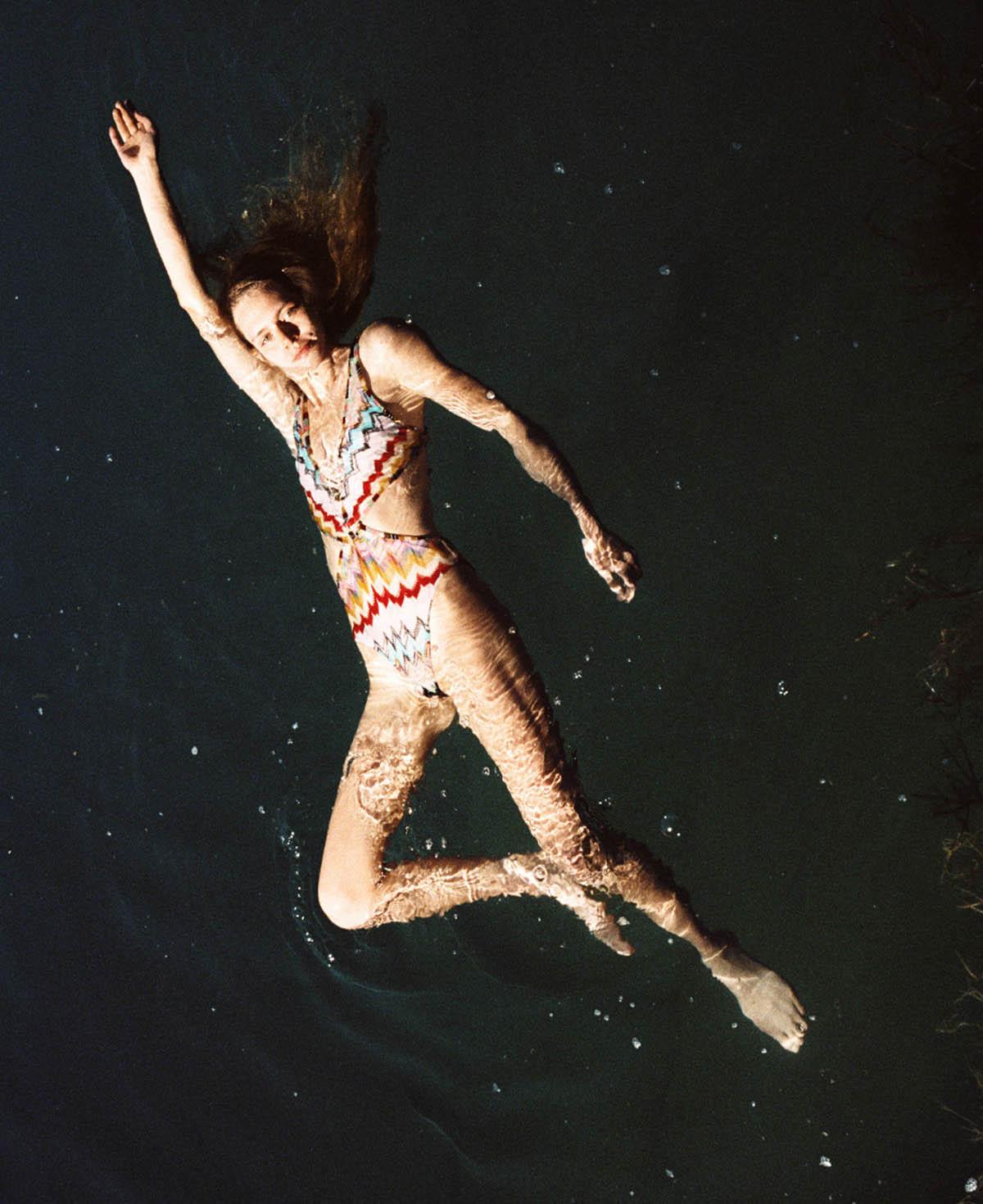 Nikki Mcguire by Bryan Liston for Harper's Bazaar US June July 2021