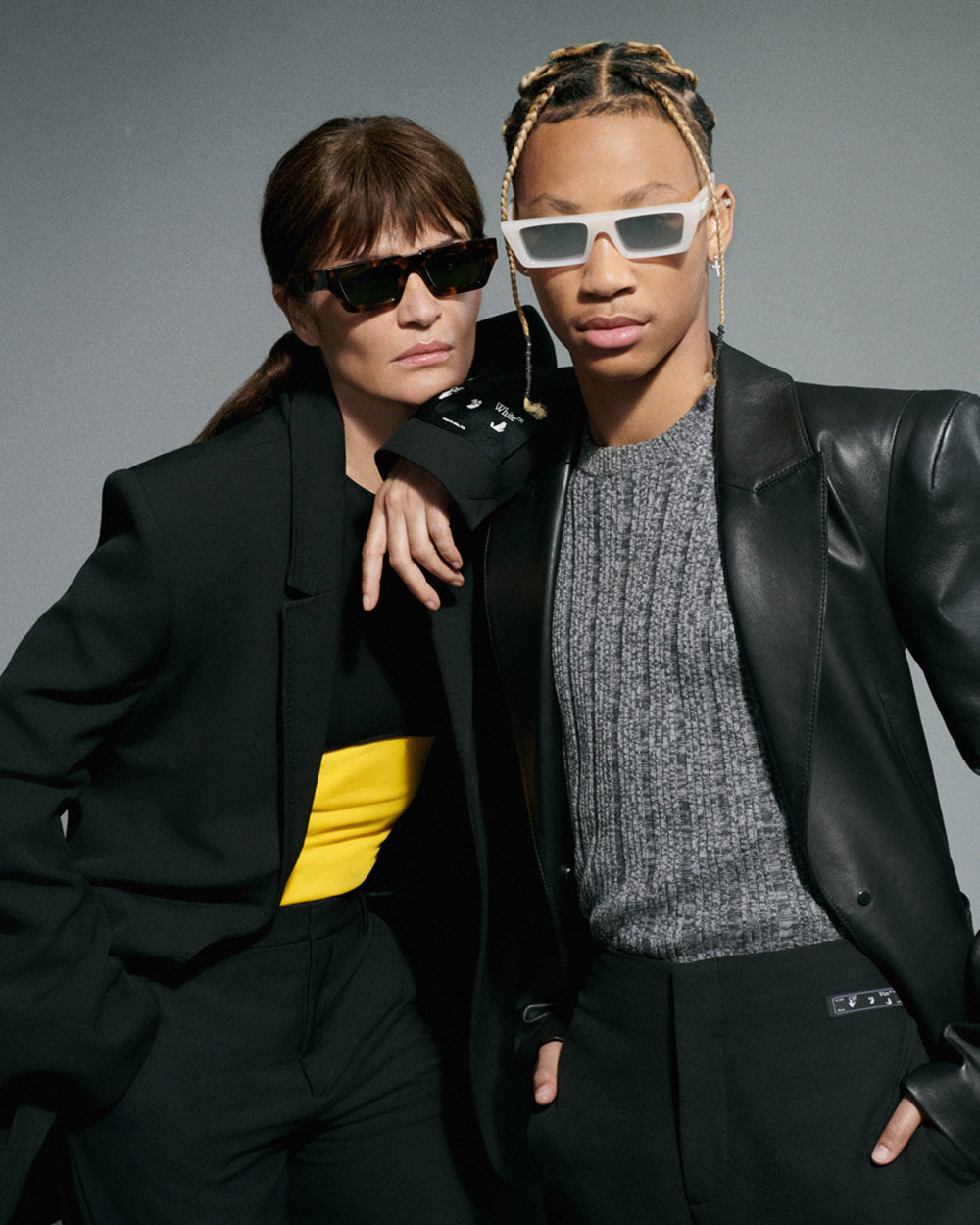 Off-White's first full eyewear collection campaign