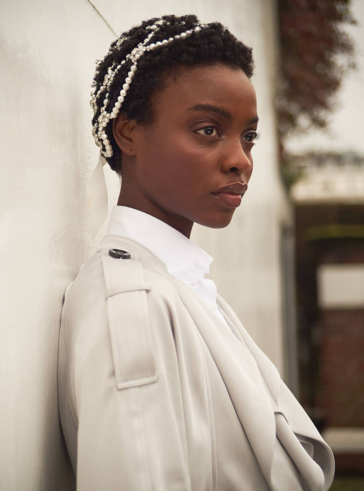Olamide Ogundele by Kristin Vicari for Harper's Bazaar UK June 2021