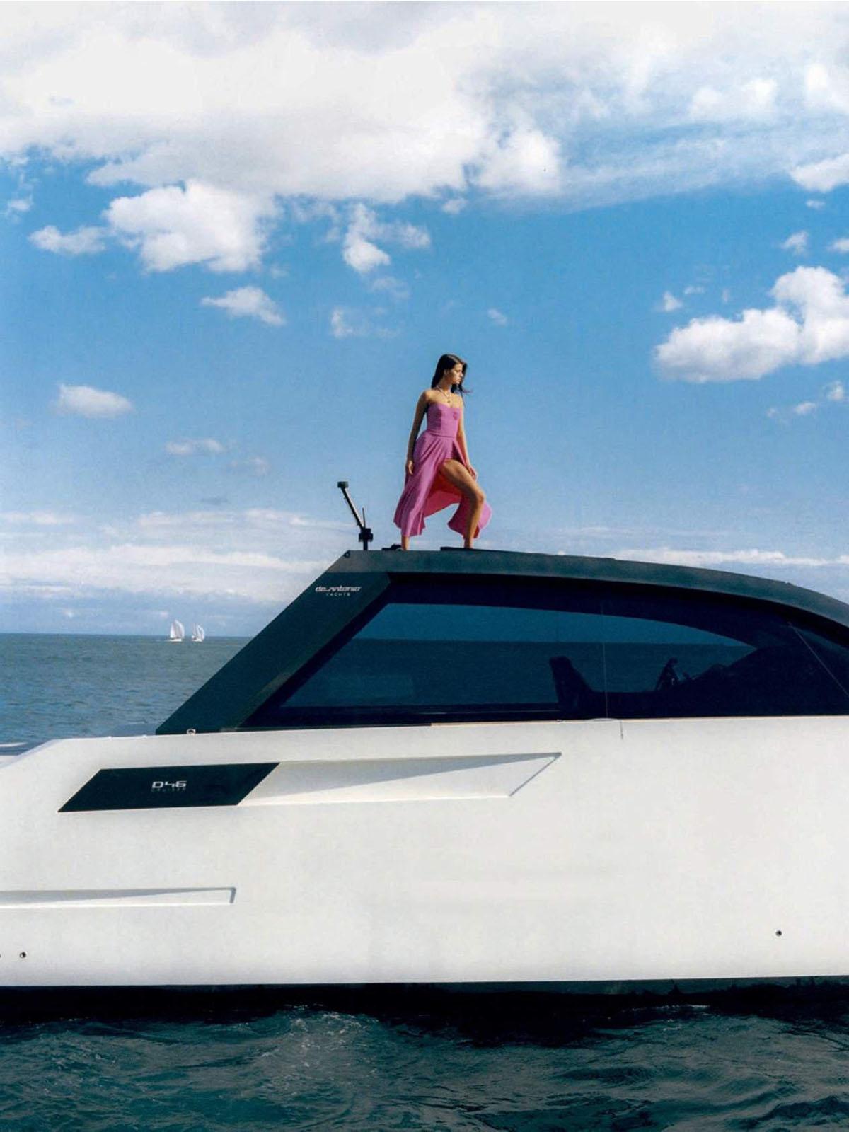 Paula Anguera by Josep Moré for Vogue Spain June 2021