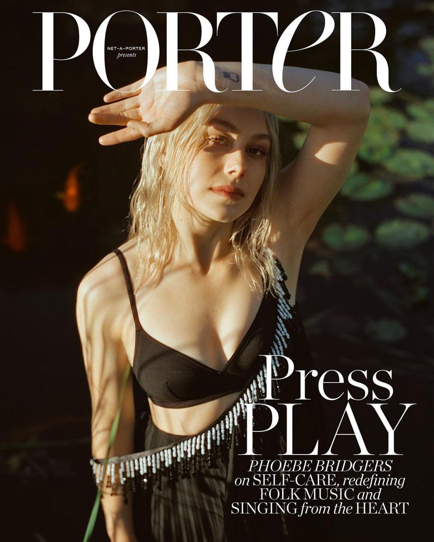 Phoebe Bridgers covers Porter Magazine June 28th, 2021 by Daniel Jack Lyons