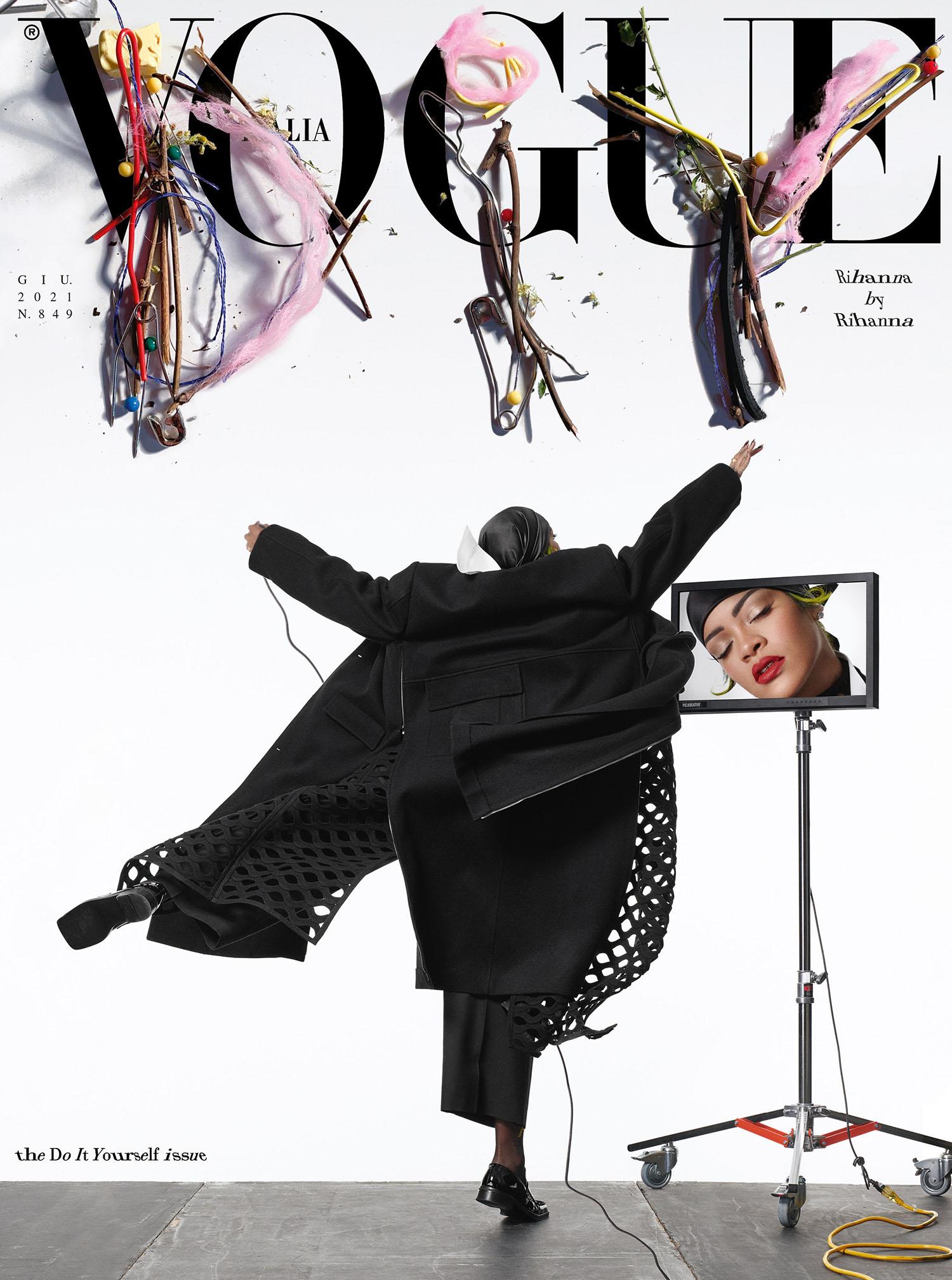 Rihanna covers Vogue Italia June 2021 by Rihanna