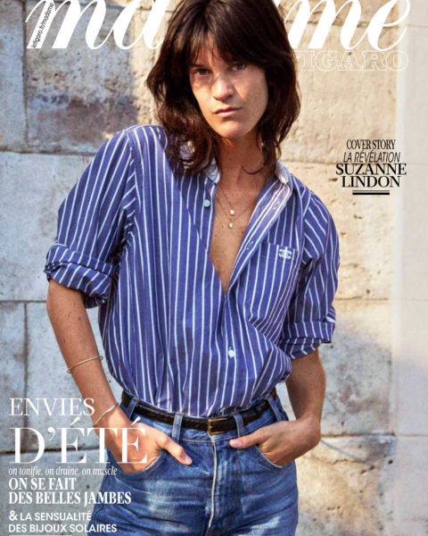 Suzanne Lindon covers Madame Figaro June 4th, 2021 by Matias Indjic