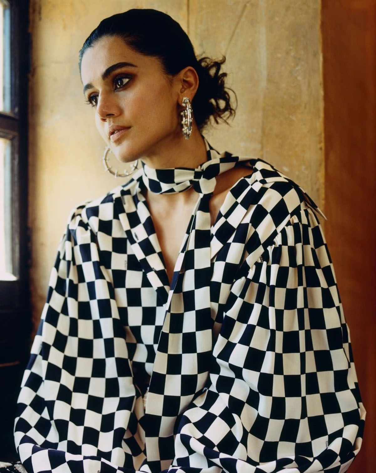 Taapsee Pannu covers Vogue India May June 2021 by Bikramjit Bose