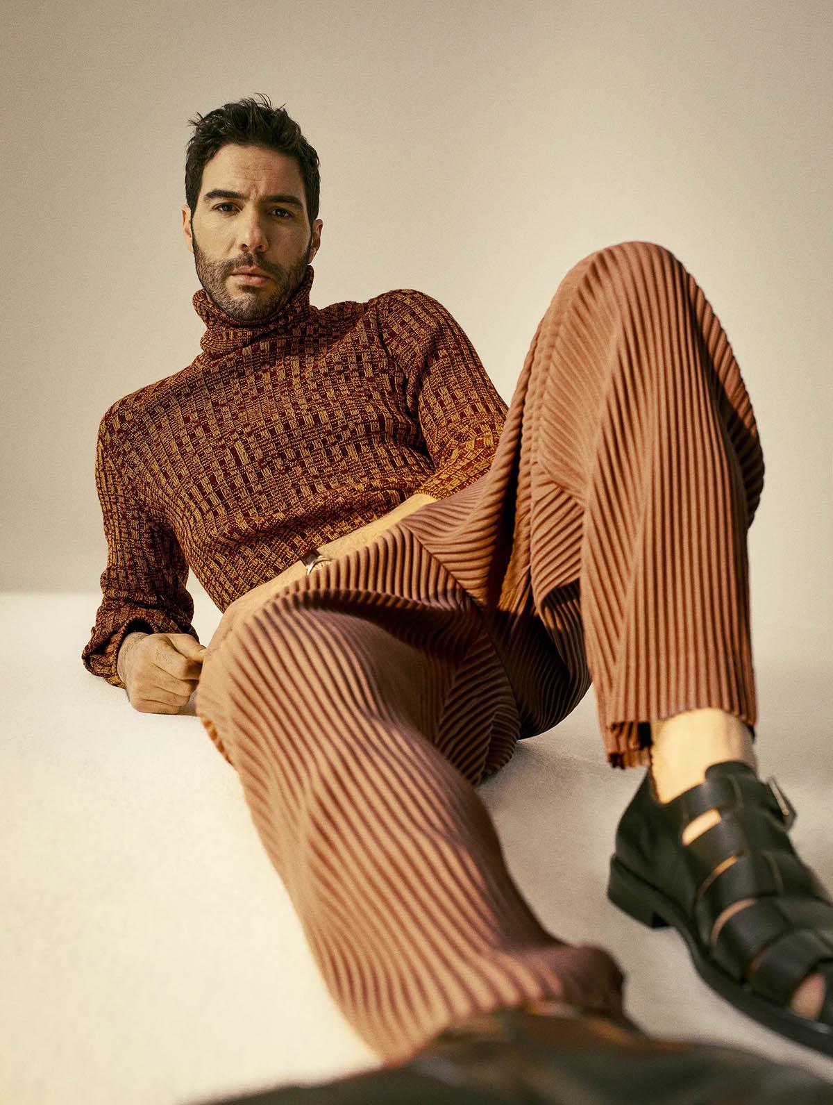 Tahar Rahim by Raul Ruz for L'Officiel Hommes Italia Issue 26