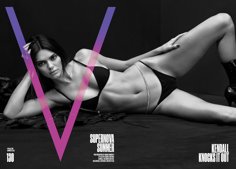 V Magazine Summer 2021 covers by Mario Sorrenti