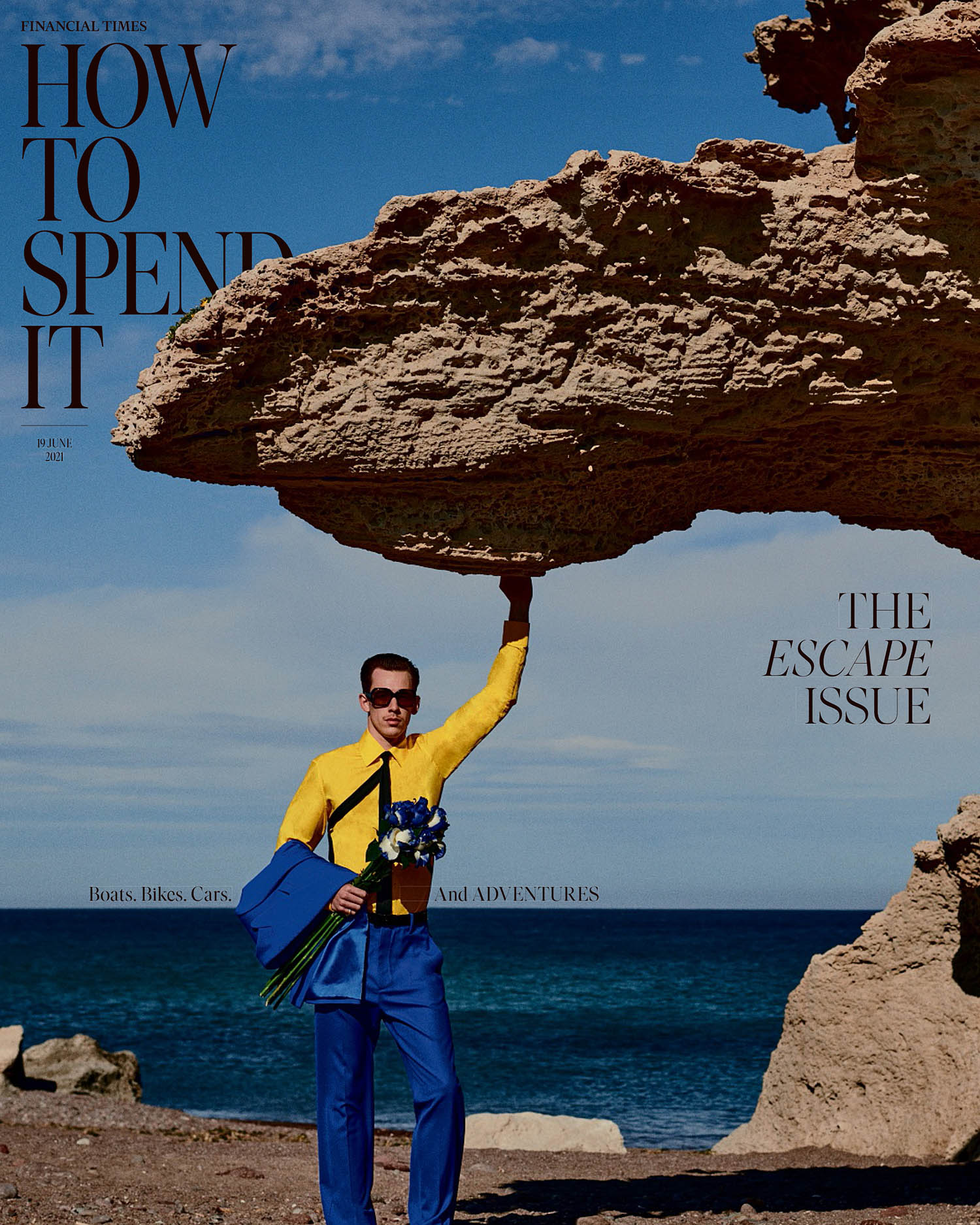 Victor Ordoñez covers How To Spend It June 19th, 2021 by Bruno Staub