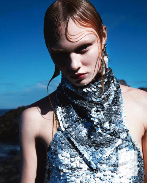 Vilma Sjöberg by Camilla Akrans for Vogue Japan June 2021