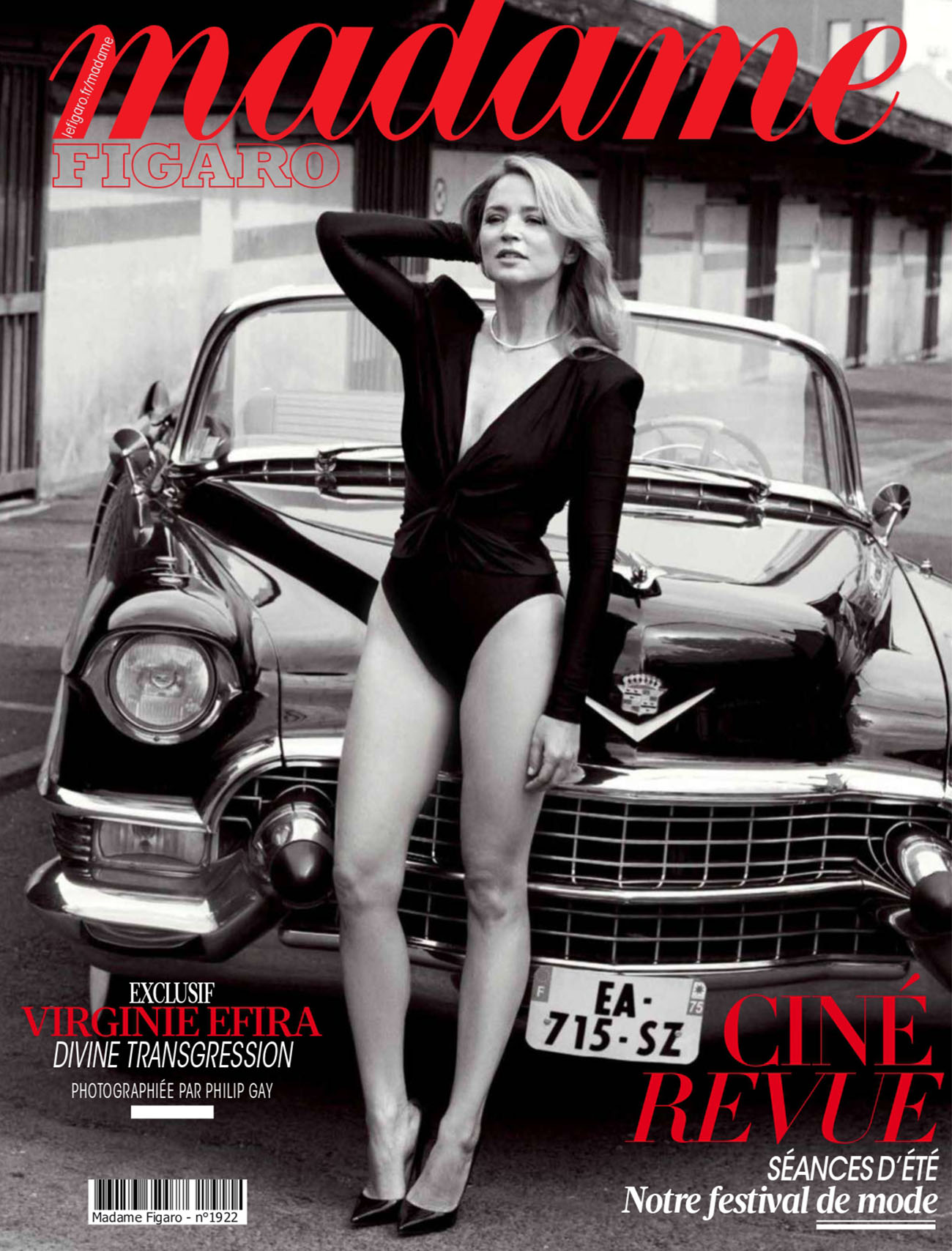 Virginie Efira covers Madame Figaro June 25th, 2021 by Philip Gay