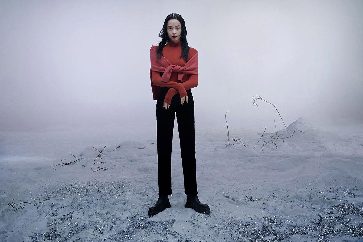 Xiao Wen Ju covers CR Fashion Book China Issue 01 by Fan Xin