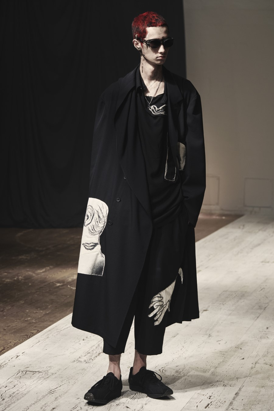 Yohji Yamamoto Spring Summer 2022 - Paris Fashion Week Men's