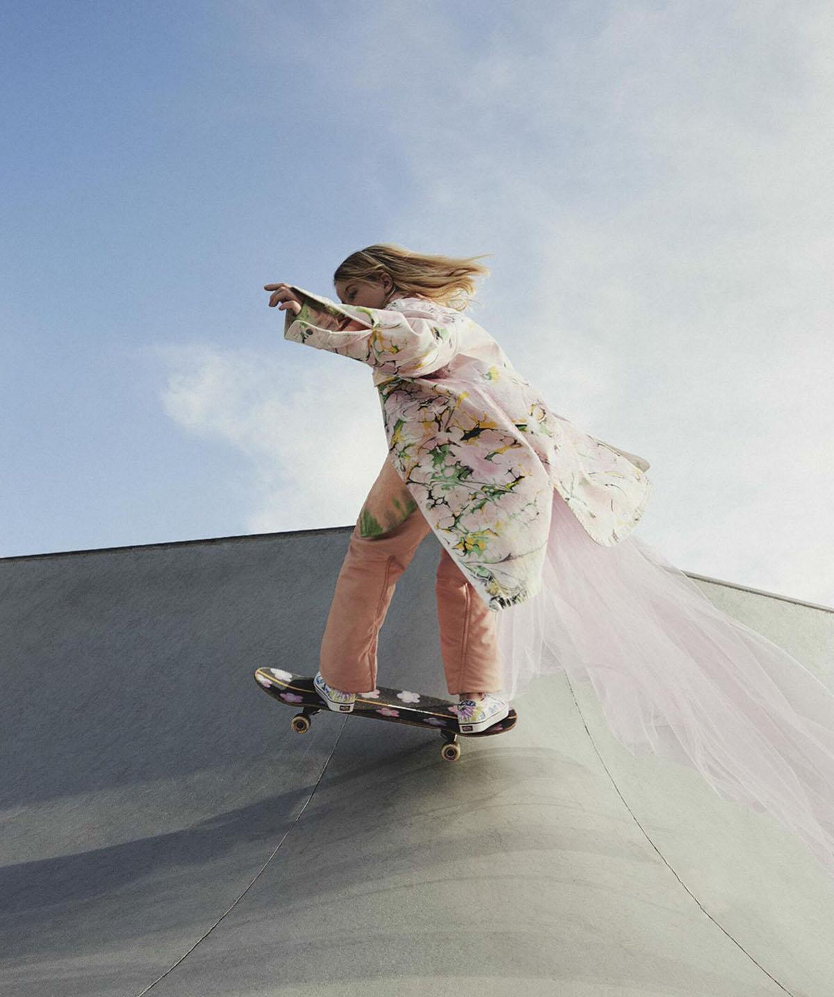 ''Air Time'' by Jesse Lizotte for Vogue Australia June 2021