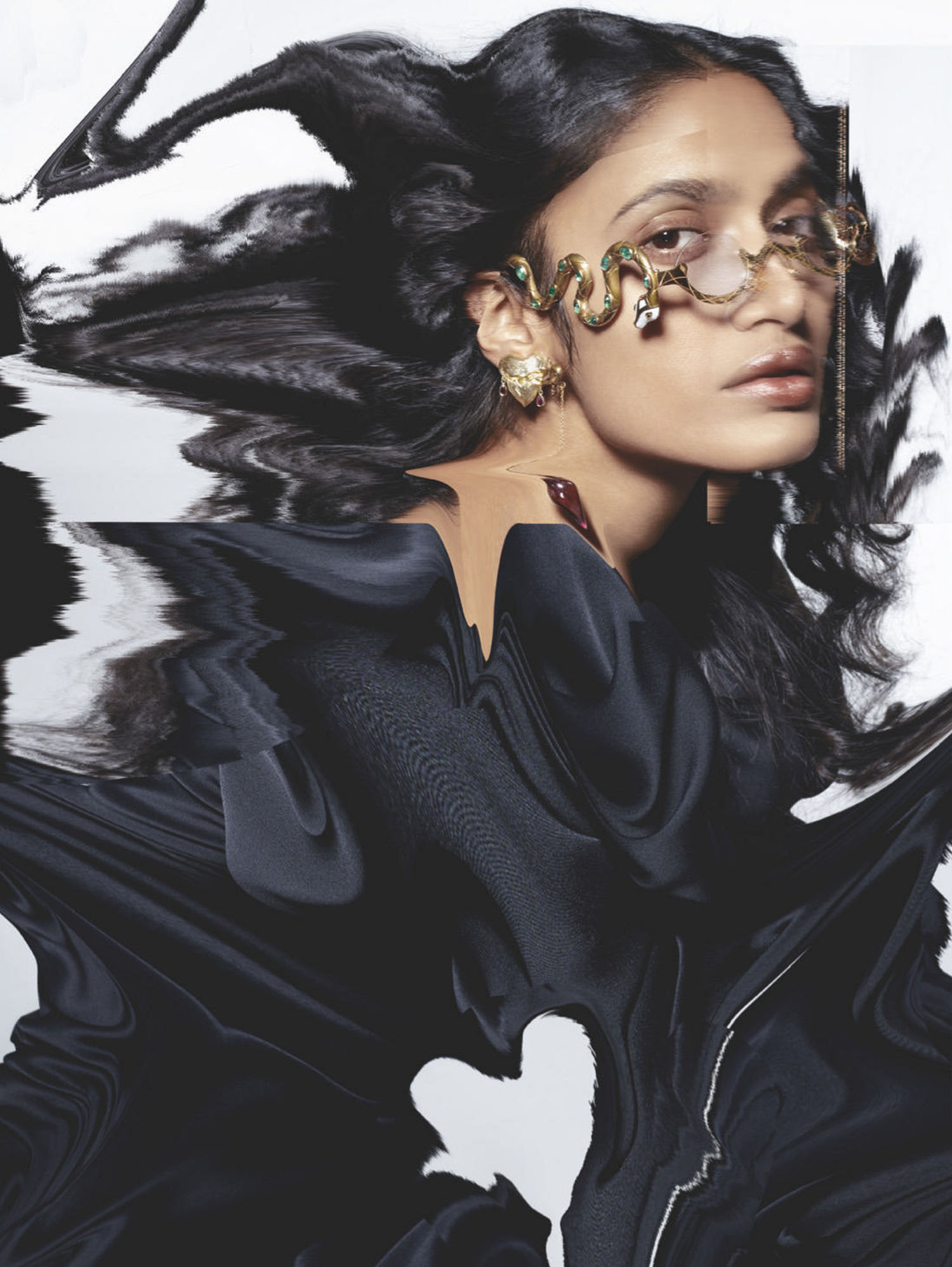 Aishwarya Gupta by John-Paul Pietrus for Vogue Singapore May June 2021