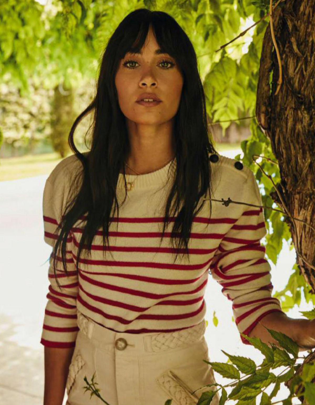 Aitana Ocaña by Rafa Gallar for Elle Spain July 2021
