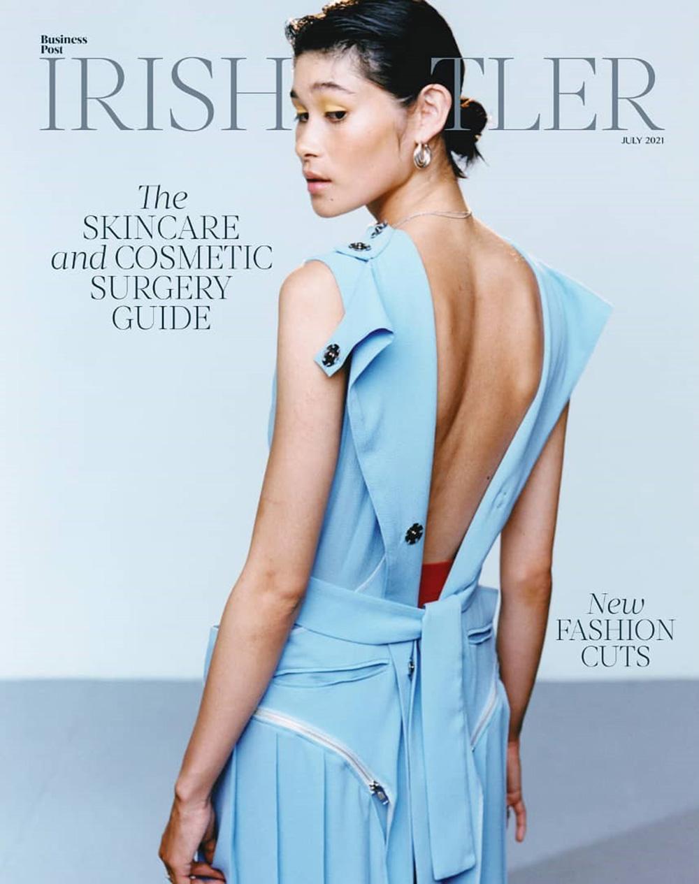 Ami Jackson covers Irish Tatler July 2021 by Eoin Moylan