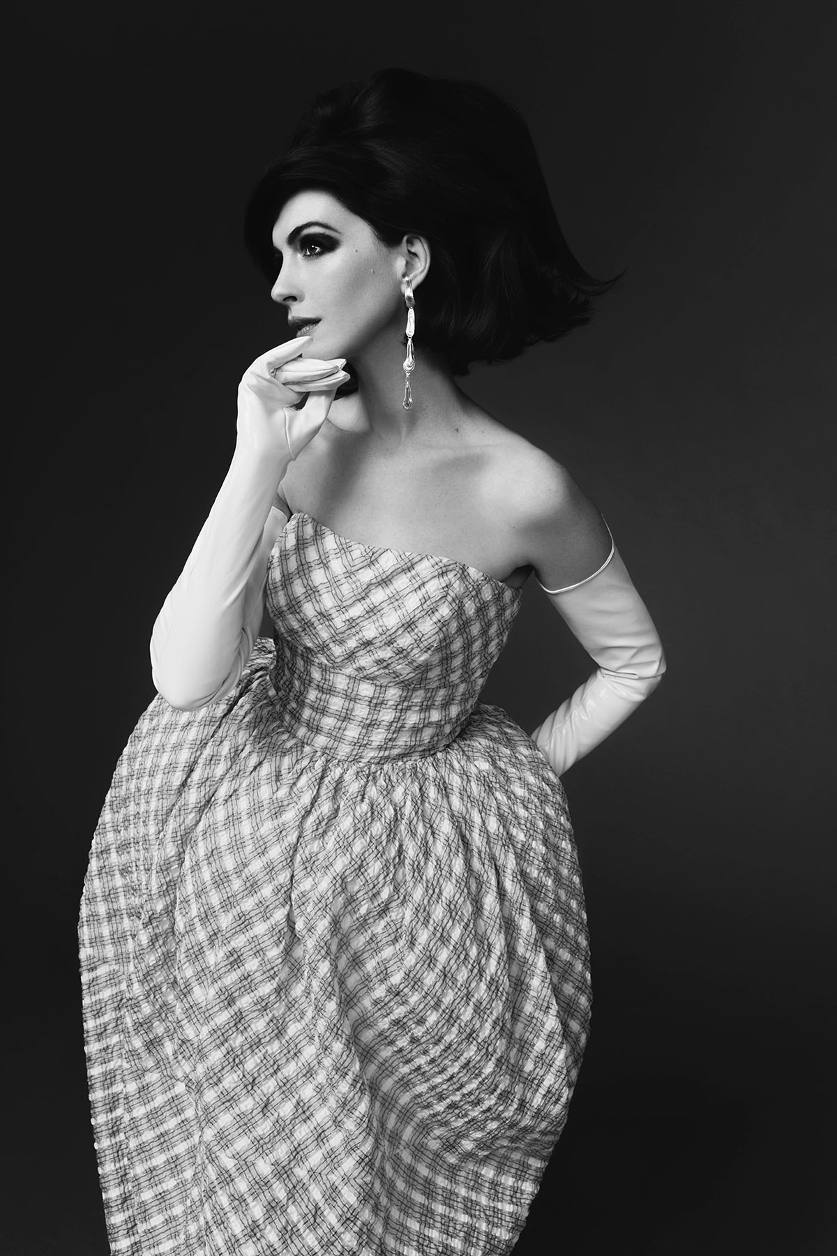 Anne Hathaway covers CR Fashion Book China Issue 02 by AB+DM