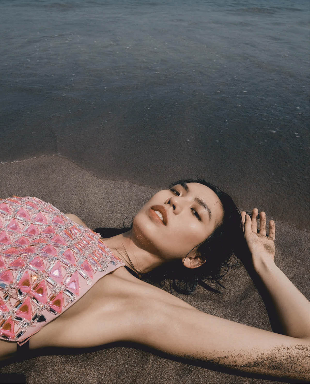 Aura Tao covers Vogue Taiwan June 2021 by Chou Mo