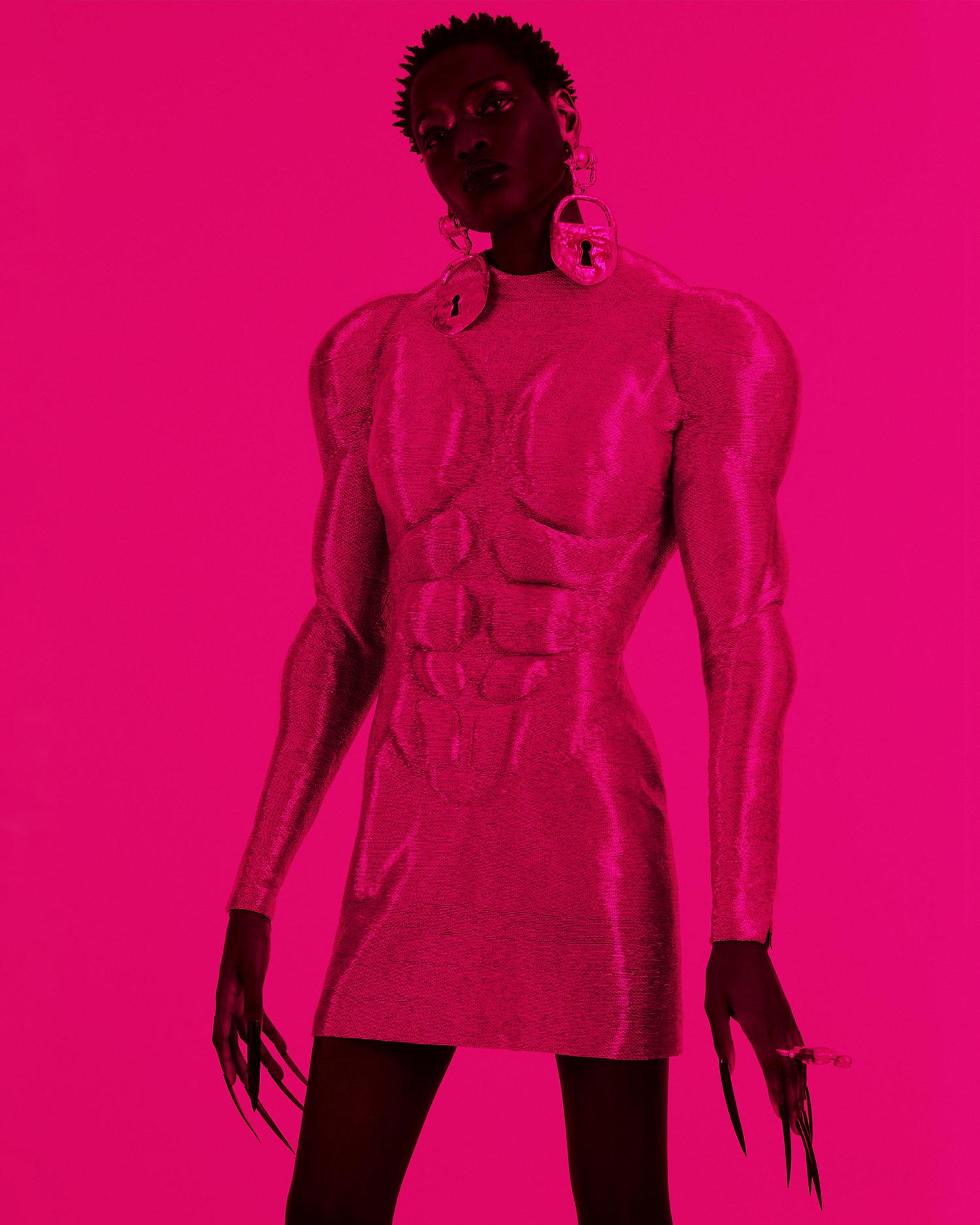 Awar Odhiang by Constantin Schlachter for Numéro Netherlands Spring Summer 2021