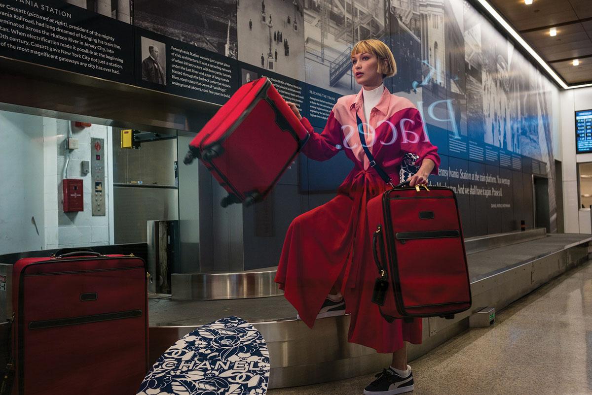 Bella Hadid by Alex Webb for Vogue US June July 2021