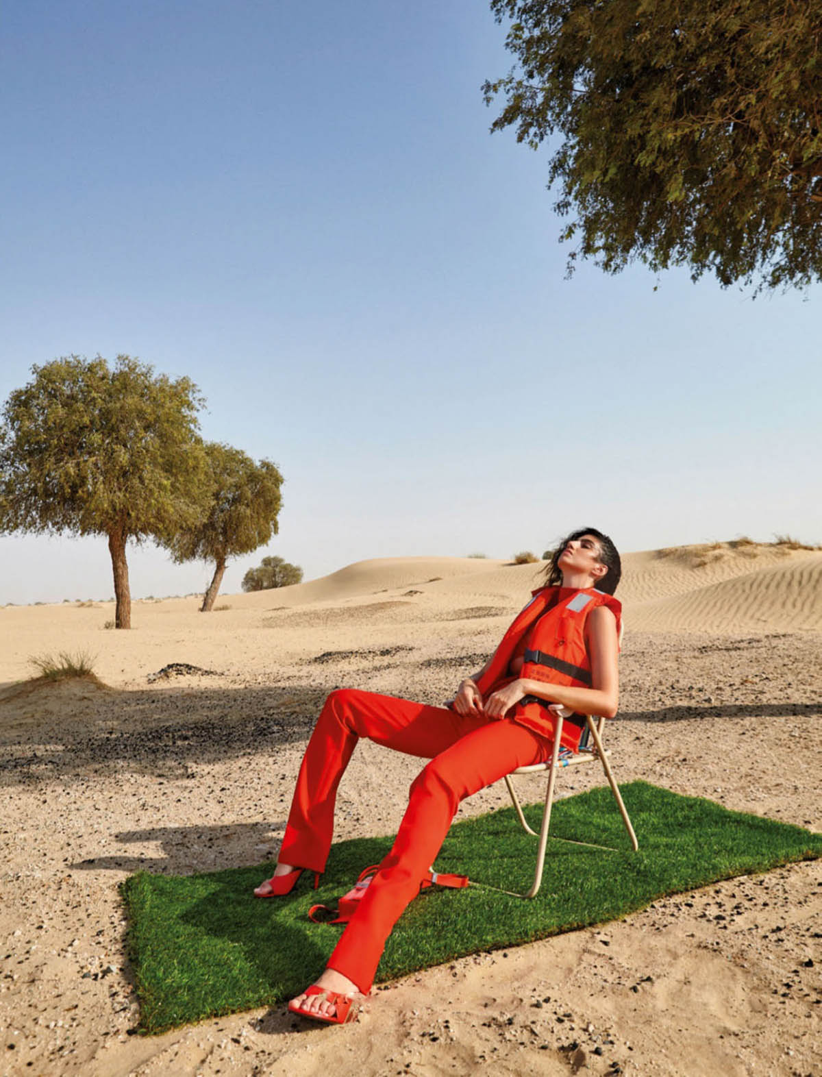 Brysa Kelly by Ricardo Abrahao for Elle Mexico July 2021