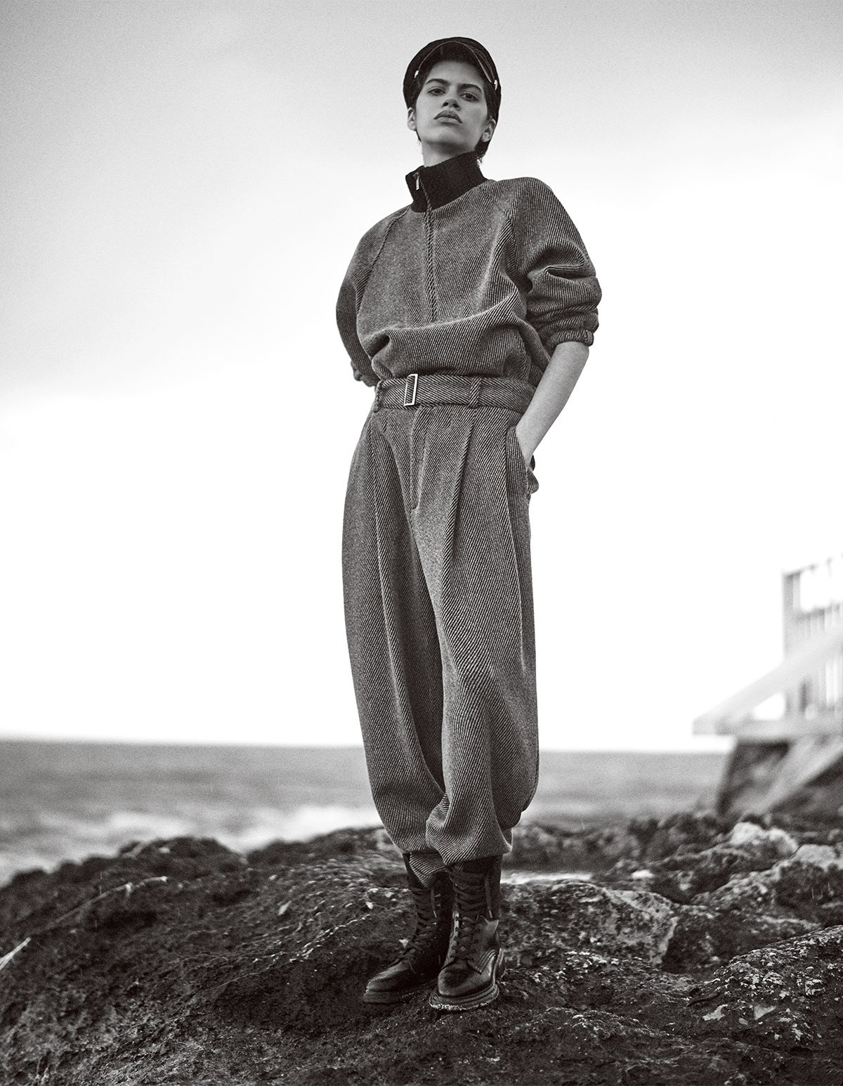 ''Celebrating 40 Years Of Emporio'' by Giampaolo Sgura for Vogue Japan July 2021