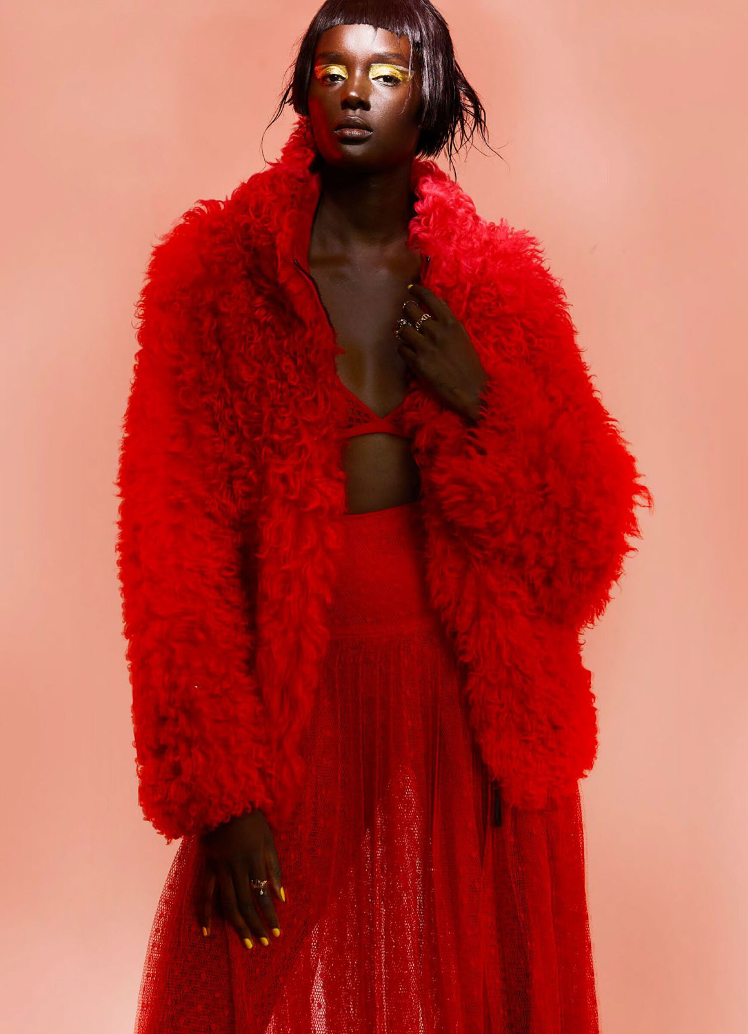 Duckie Thot by Simon Eeles for Marie Claire Australia July 2021