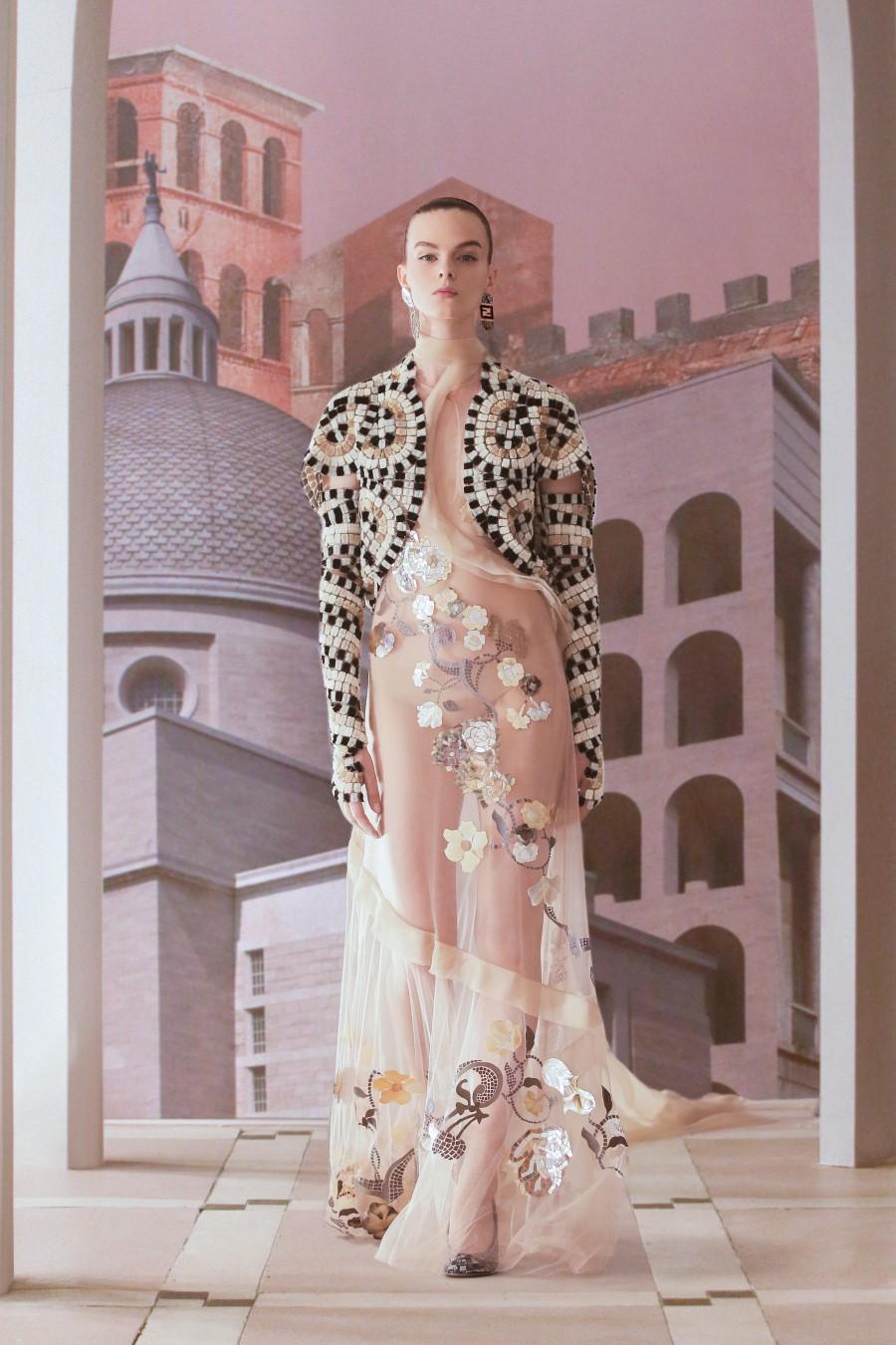 Fendi Haute Couture Fall Winter 2021