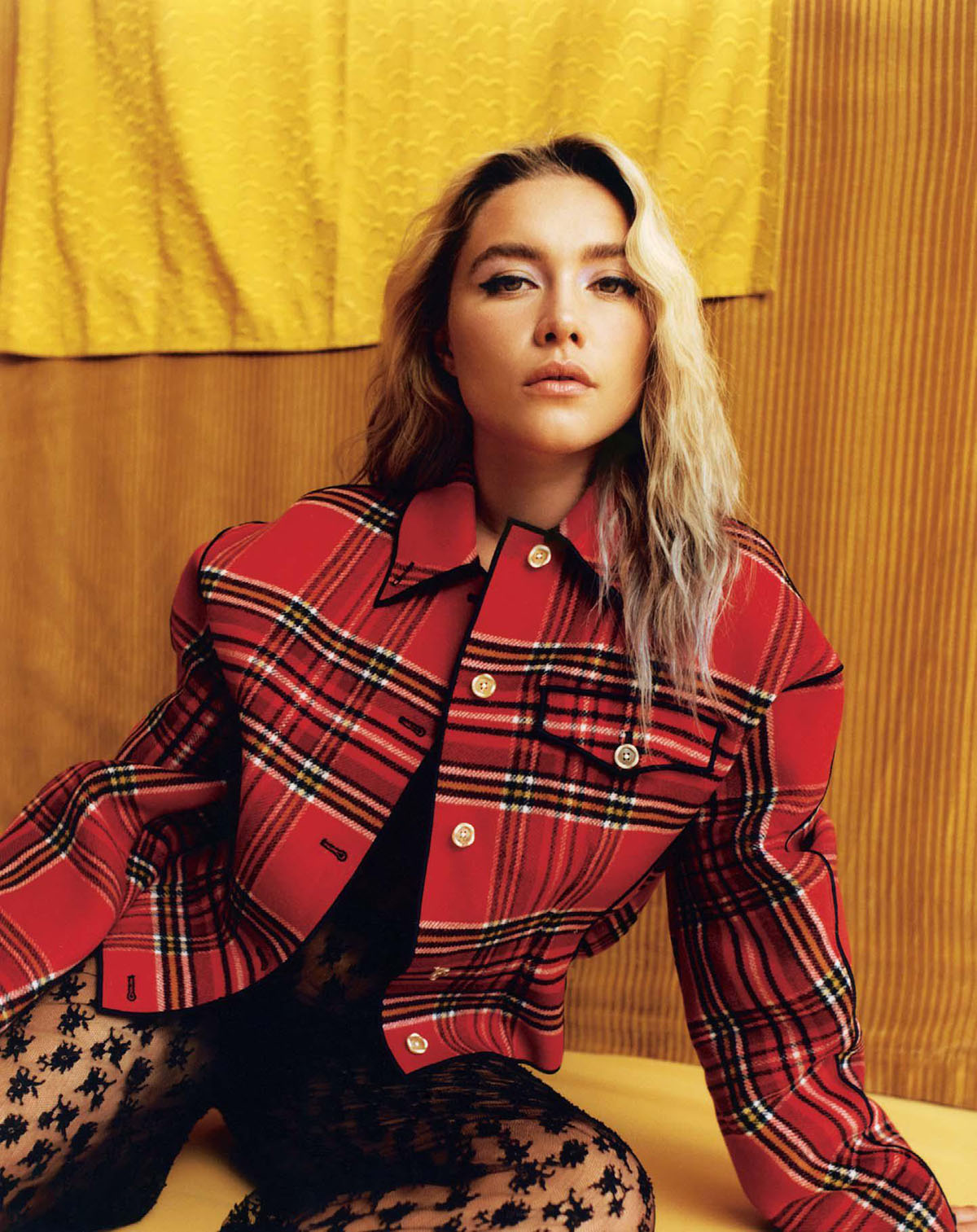 Florence Pugh covers The Sunday Times Style July 4th, 2021 by Juliette Cassidy