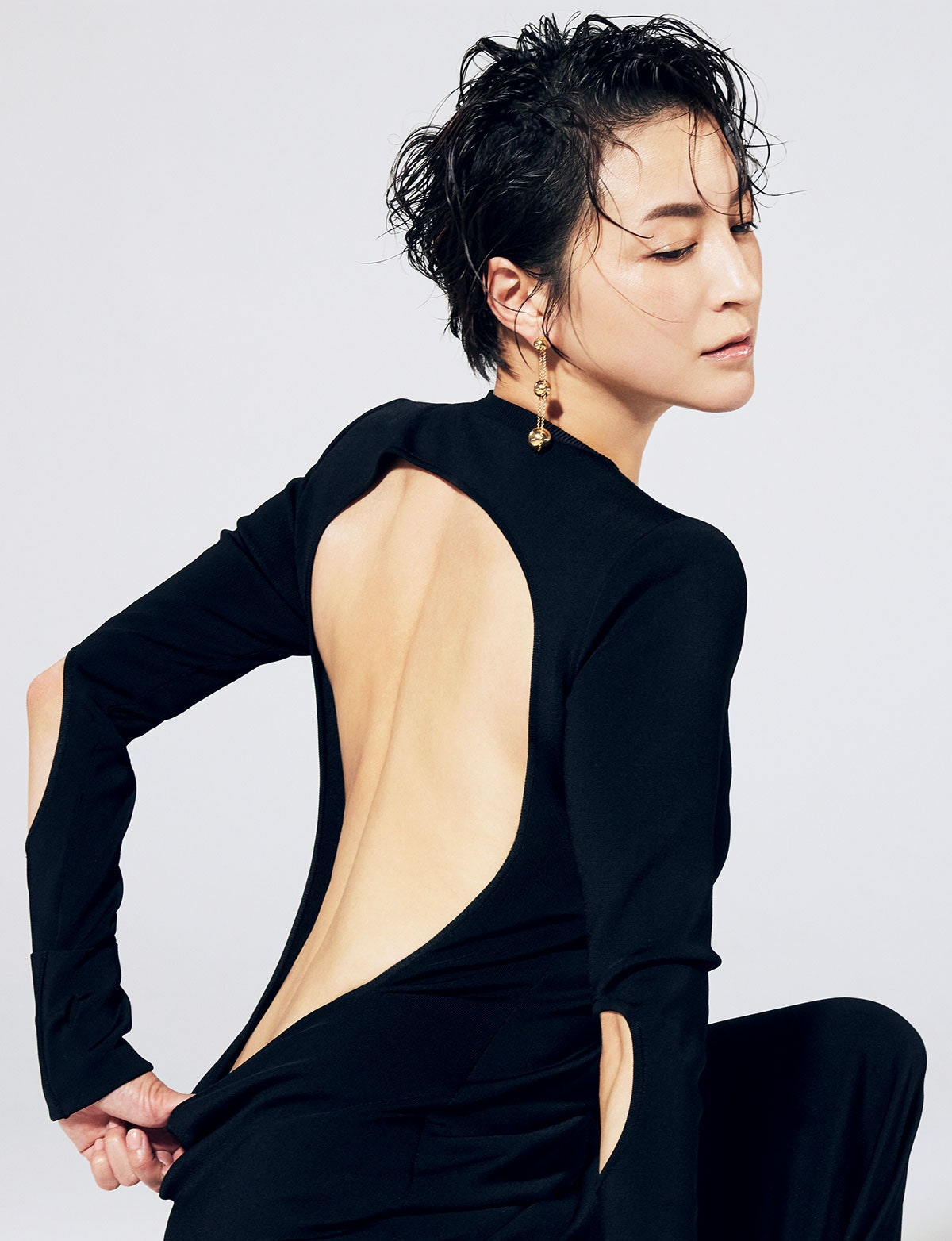 Hirosue Ryoko covers Vogue Beauty Japan July 2021 by Takahiro Igarashi