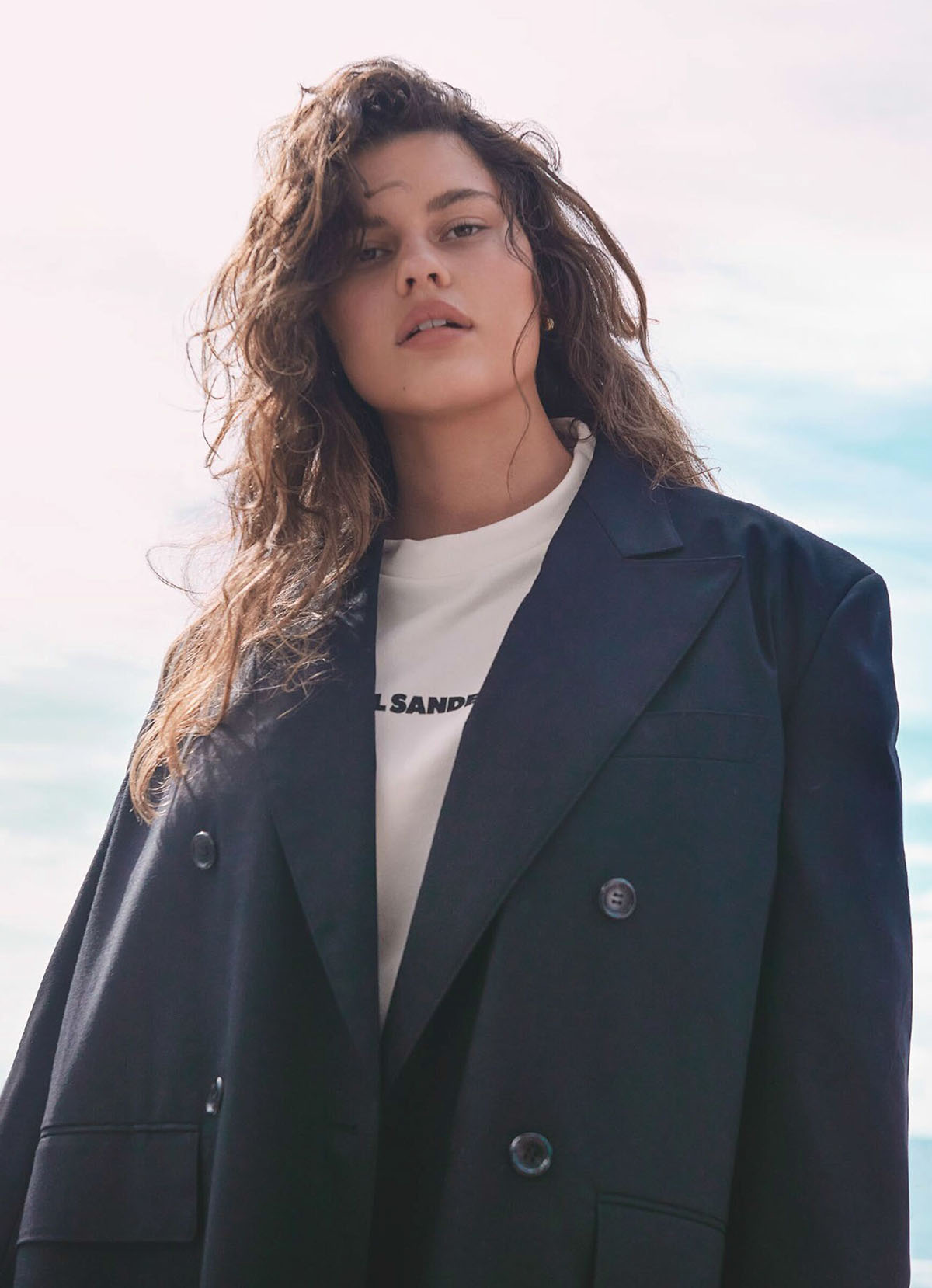 Jasmine O'Neill by Holly Ward for Marie Claire Australia July 2021